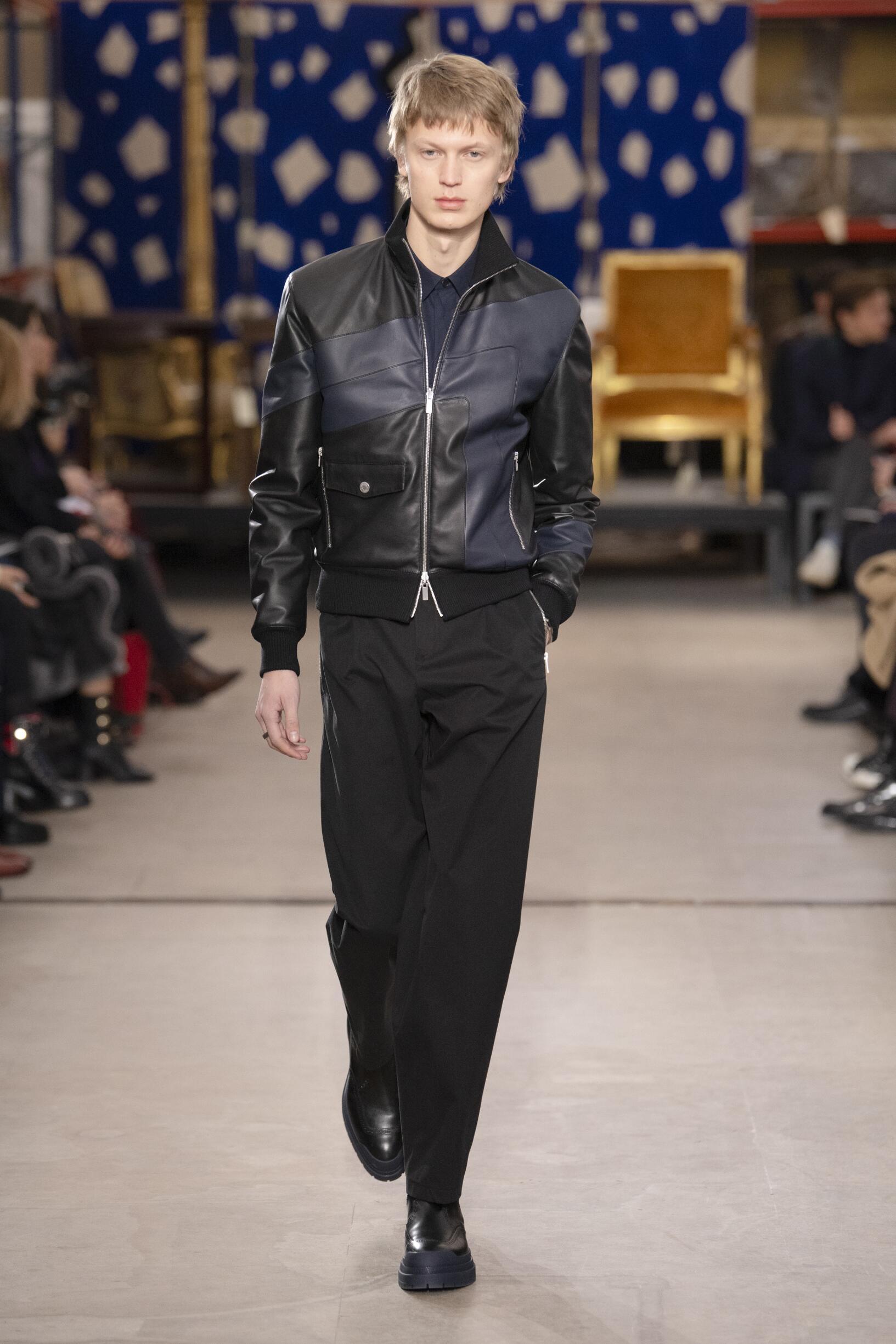 2019 Catwalk Hermès Man Fashion Show Winter