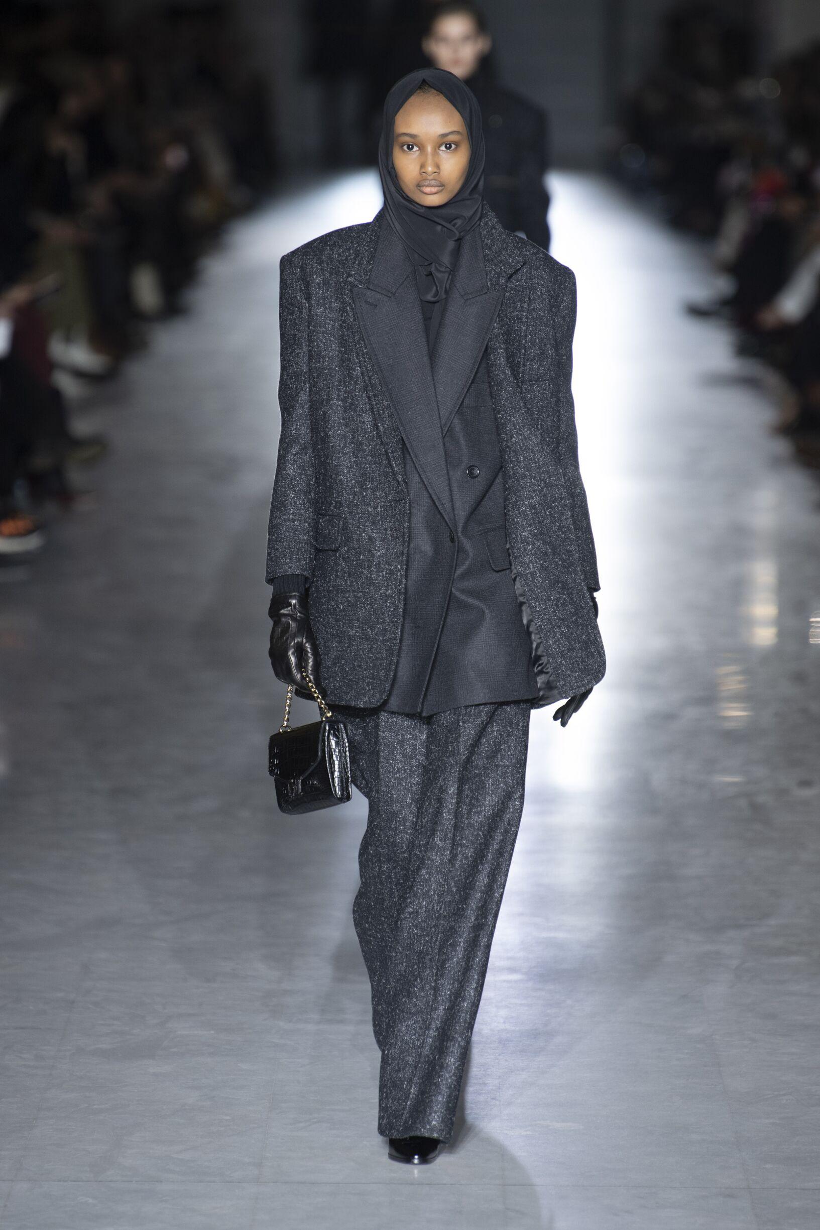 2019 Catwalk Max Mara Woman Fashion Show Winter