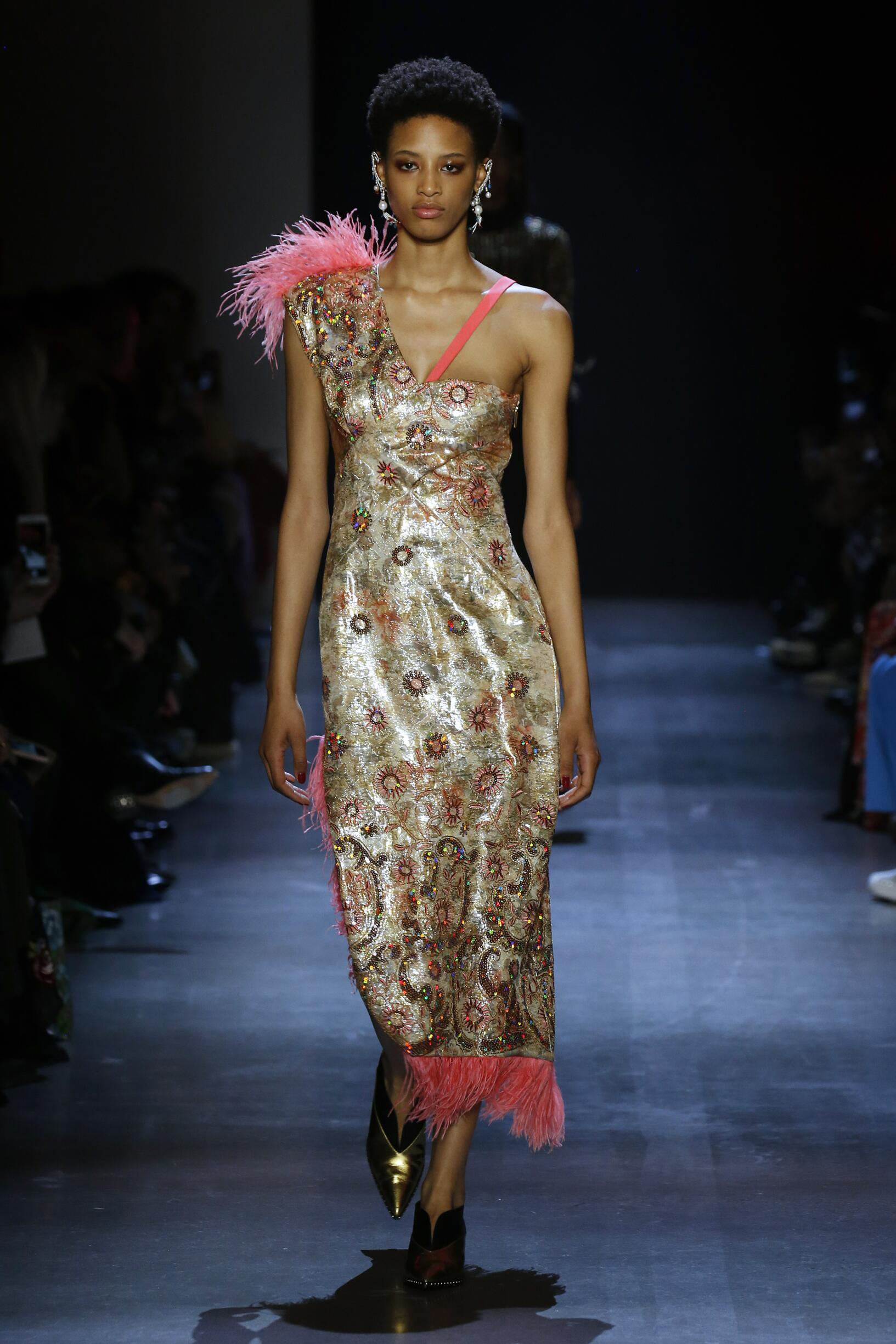 2019 Catwalk Prabal Gurung Woman Fashion Show Winter