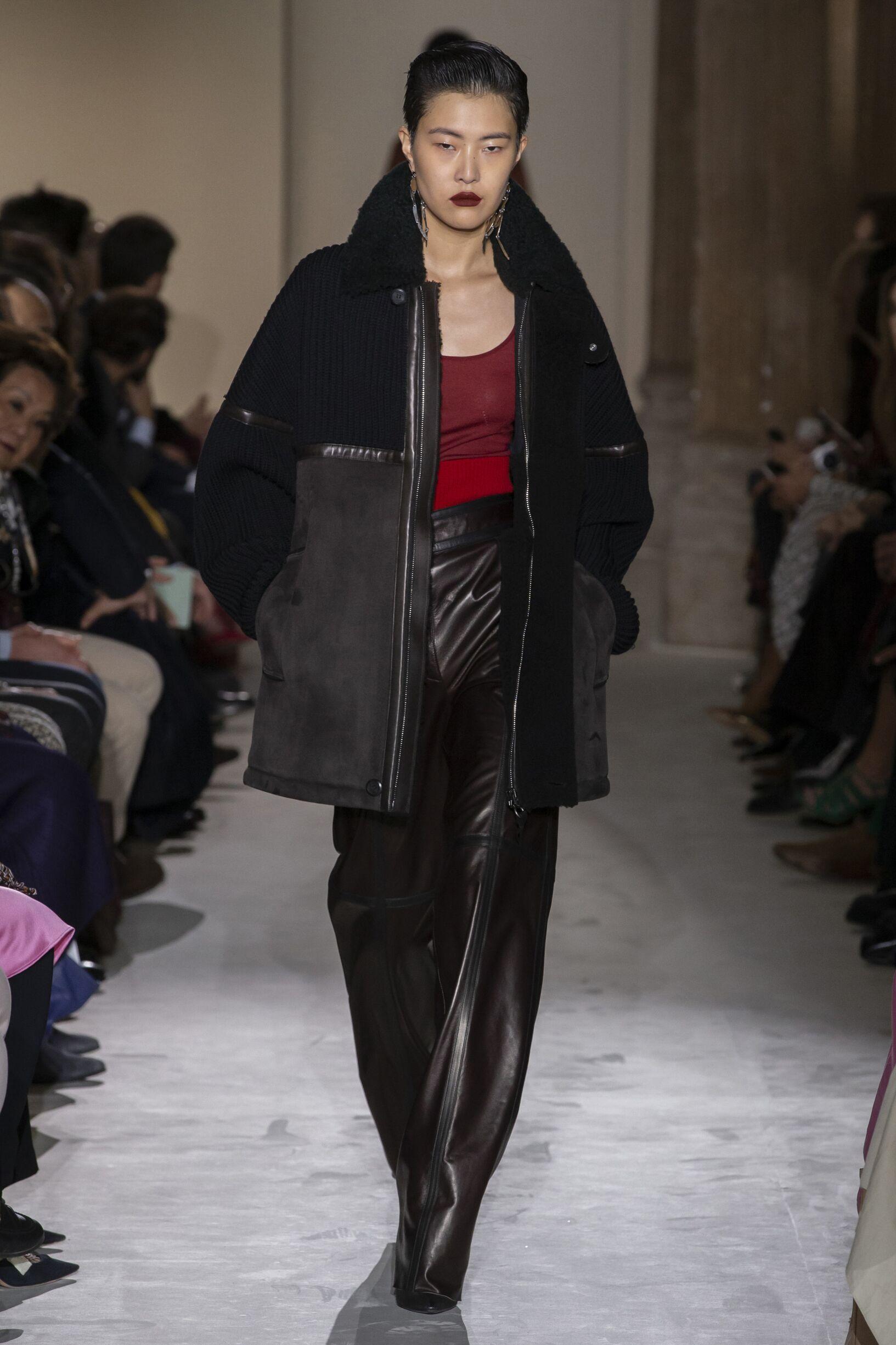 2019 Catwalk Salvatore Ferragamo Woman Fashion Show Winter