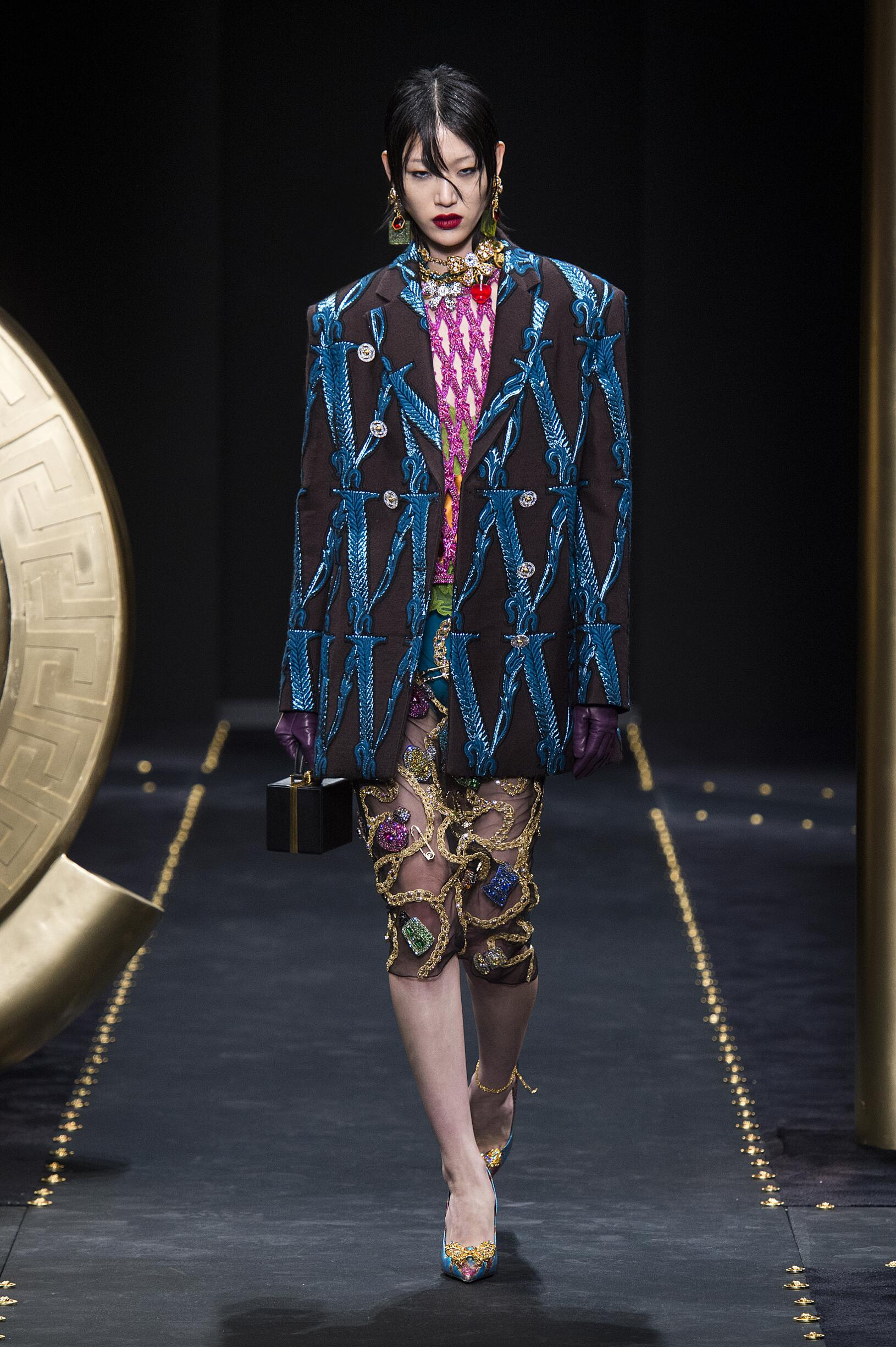 2019 Catwalk Versace Winter