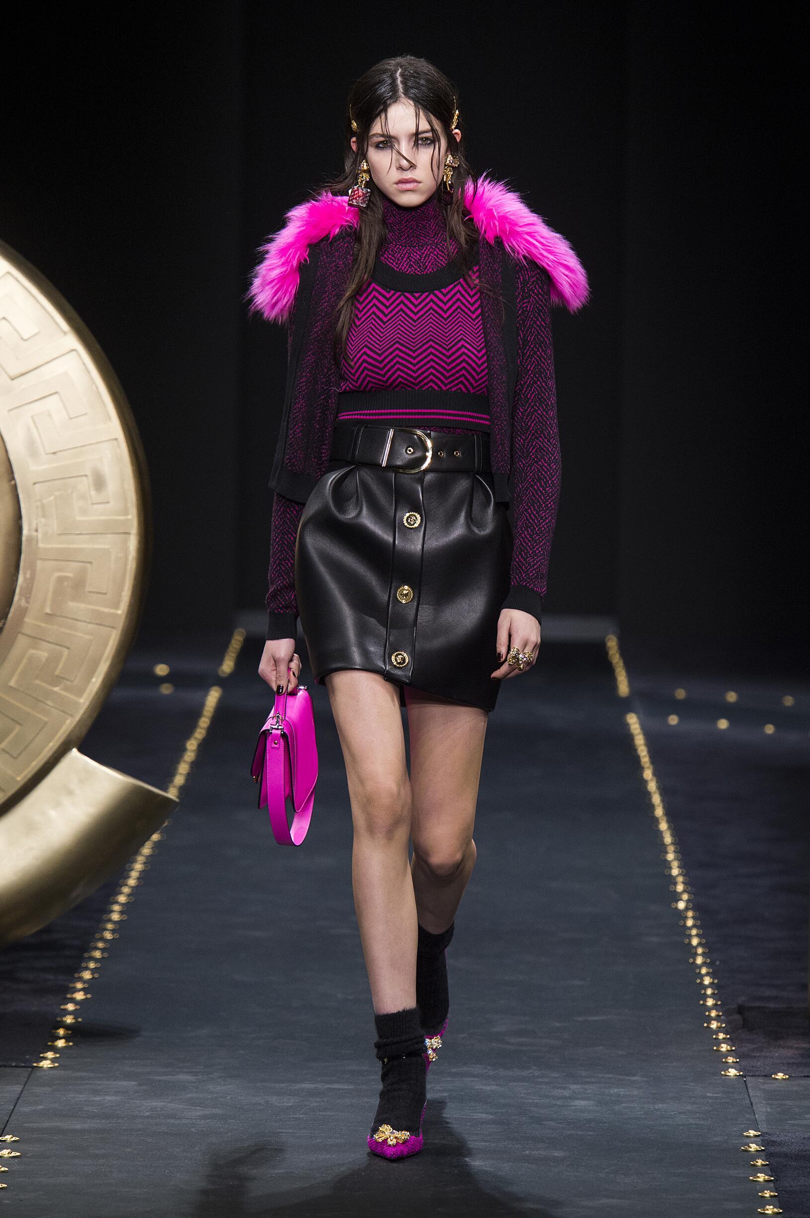 2019 Catwalk Versace