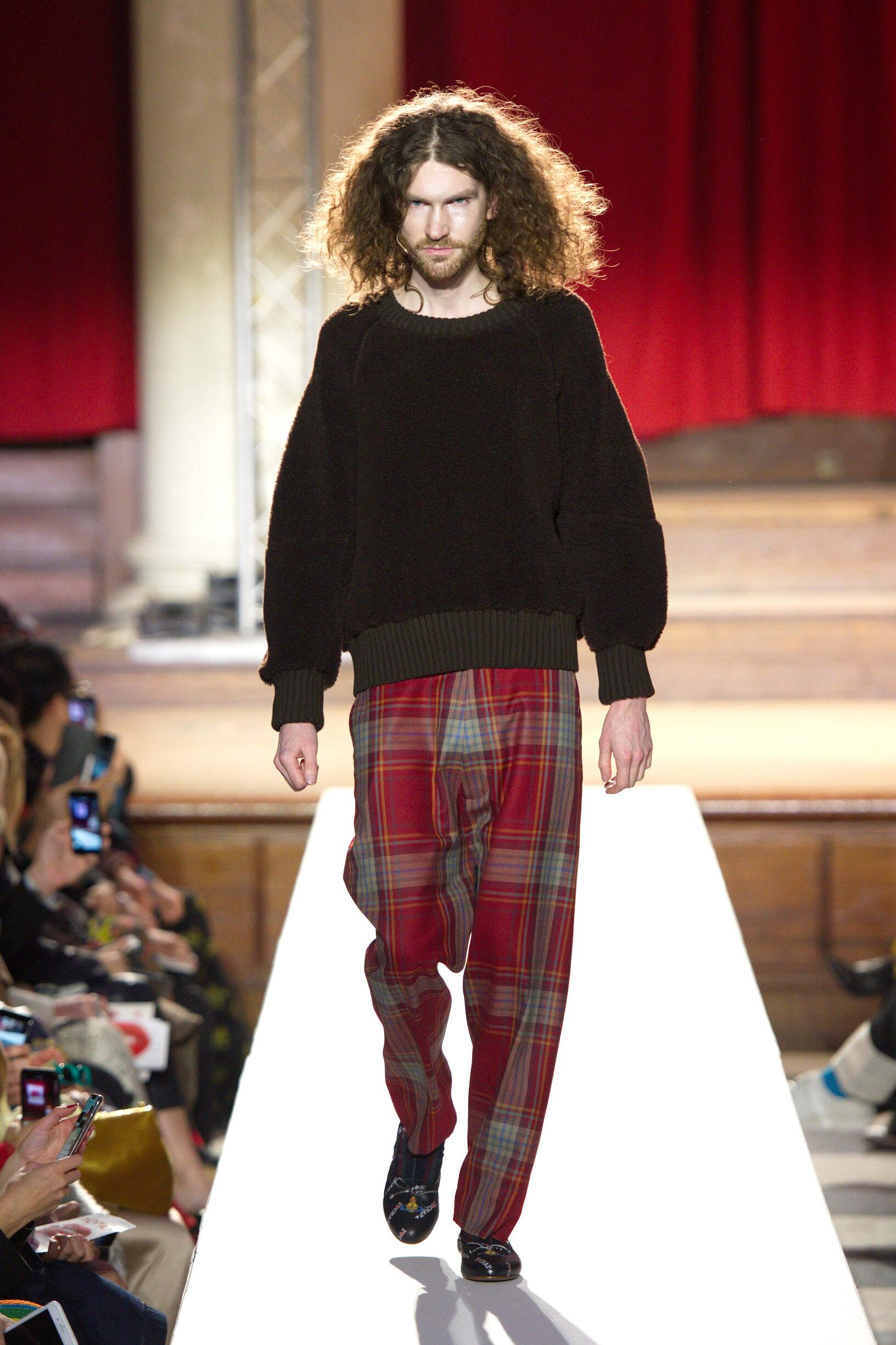 2019 Catwalk Vivienne Westwood Man Fashion Show Winter