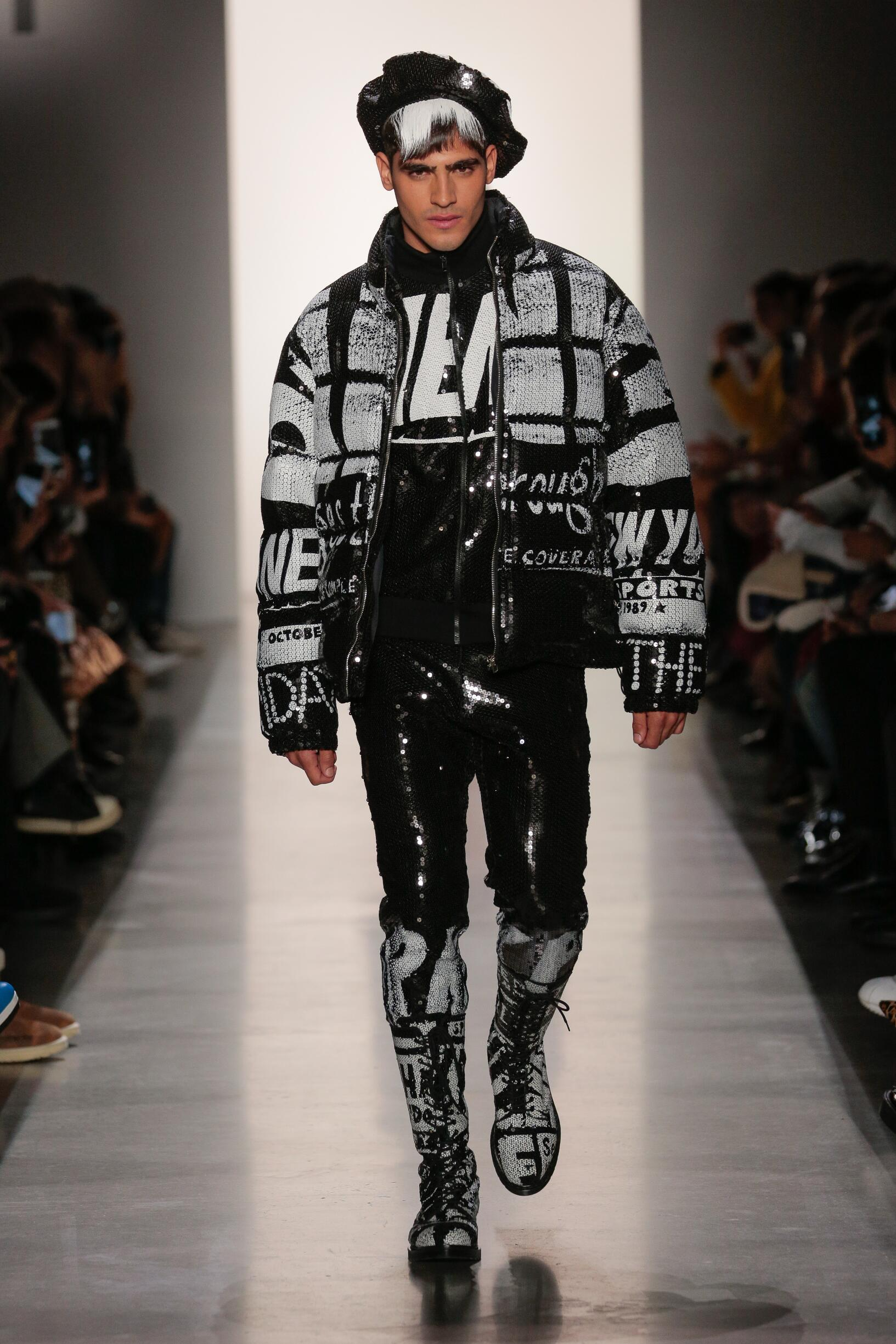 2019 Jeremy Scott Fall Winter Man