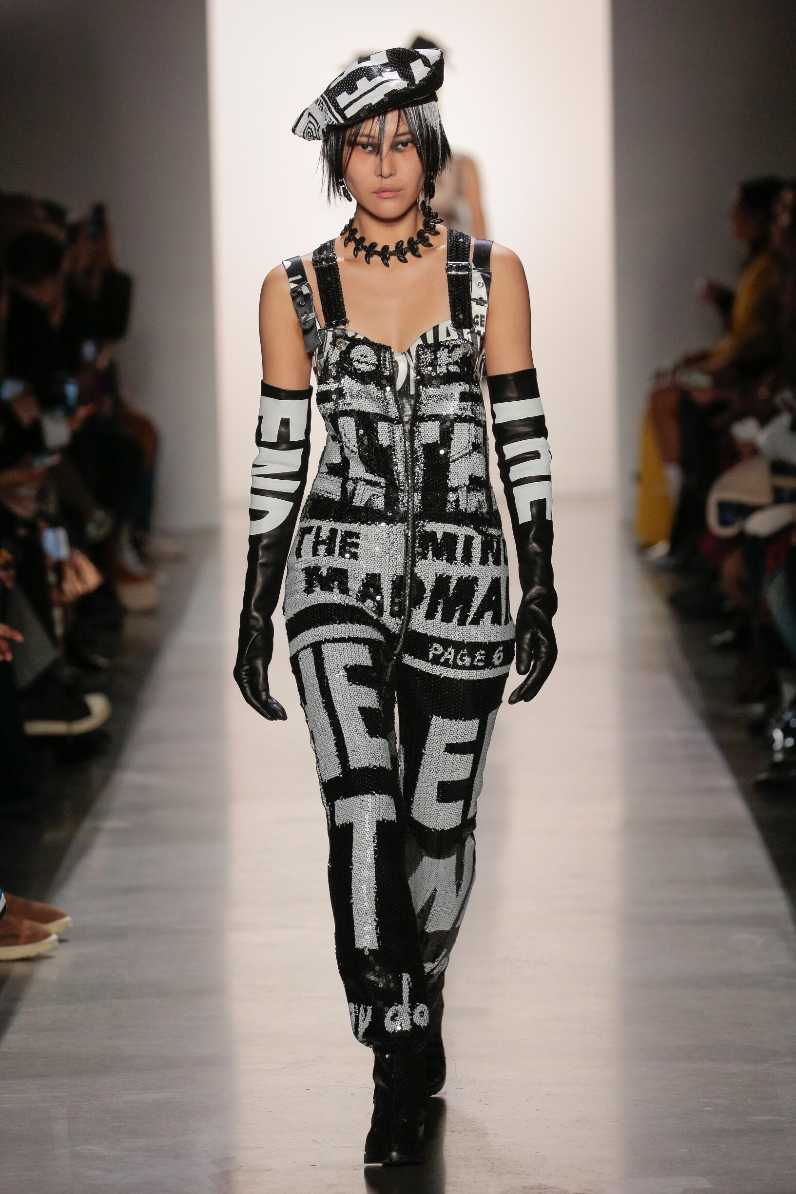 2019 Jeremy Scott Winter Catwalk