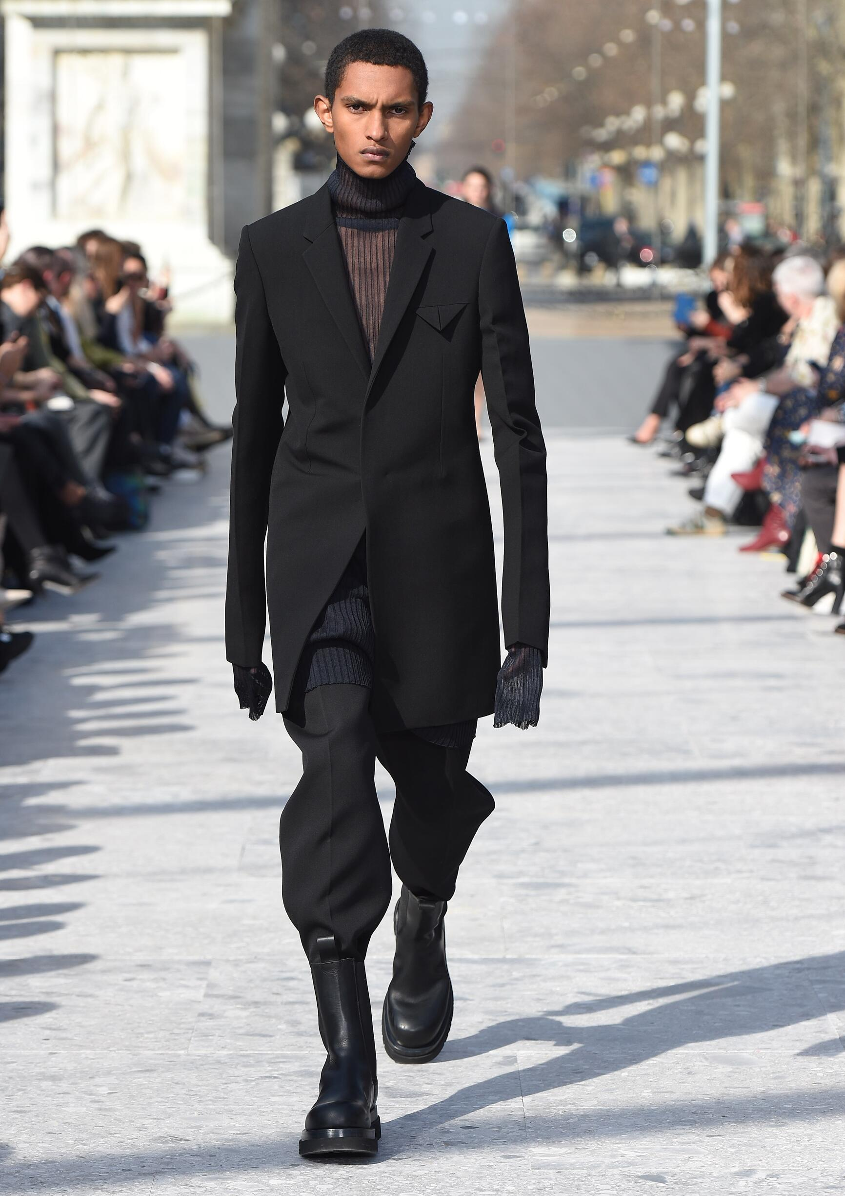 2019 Man Catwalk Bottega Veneta