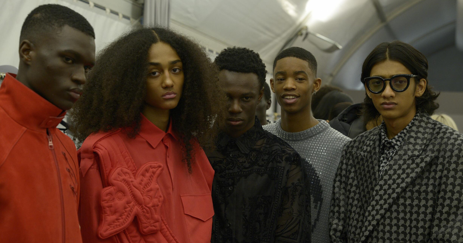 Backstage Louis Vuitton Fashion Show 2019 Paris