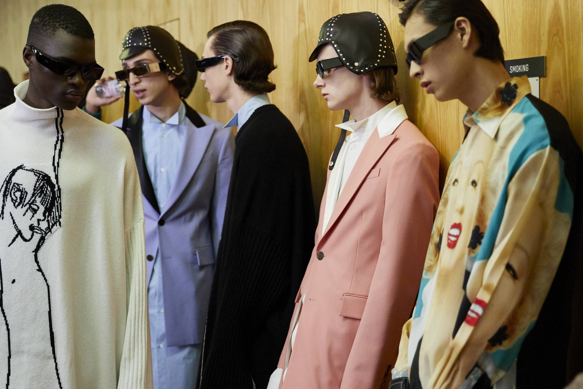 2019 Models Winter Backstage Loewe
