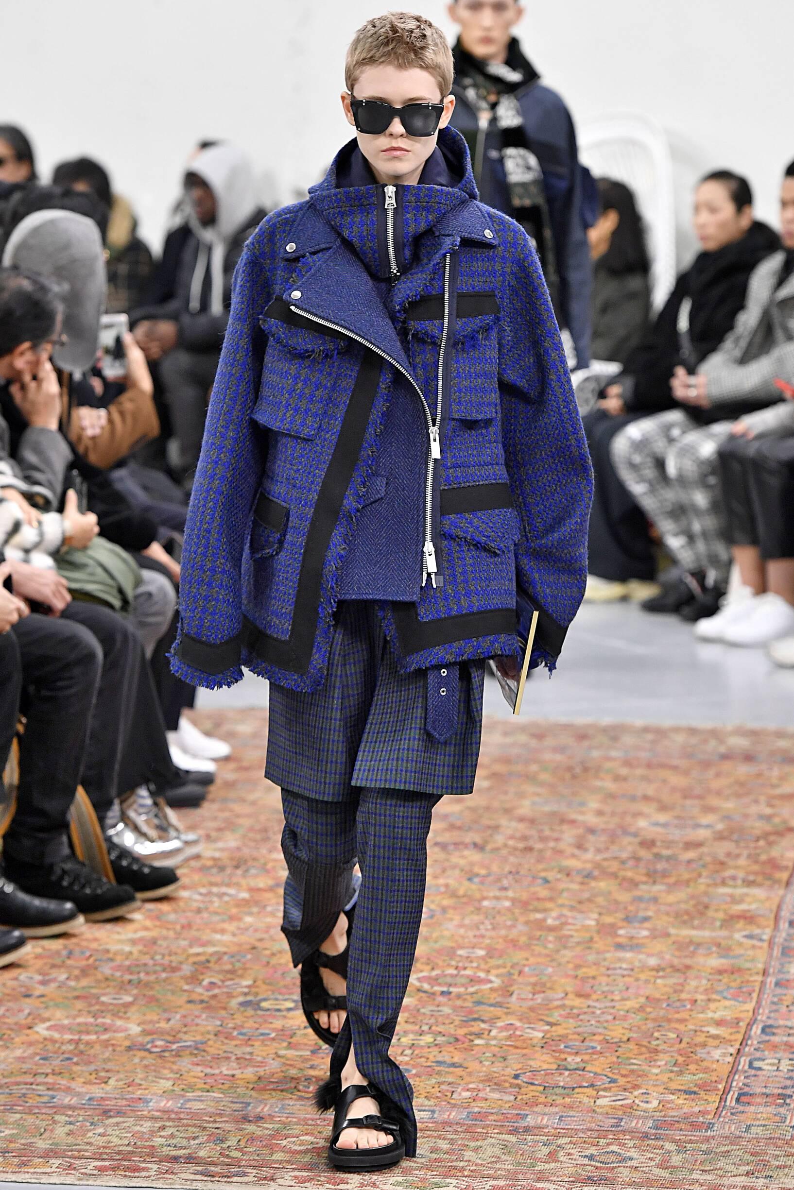 2019 Sacai Catwalk Paris Fashion Week