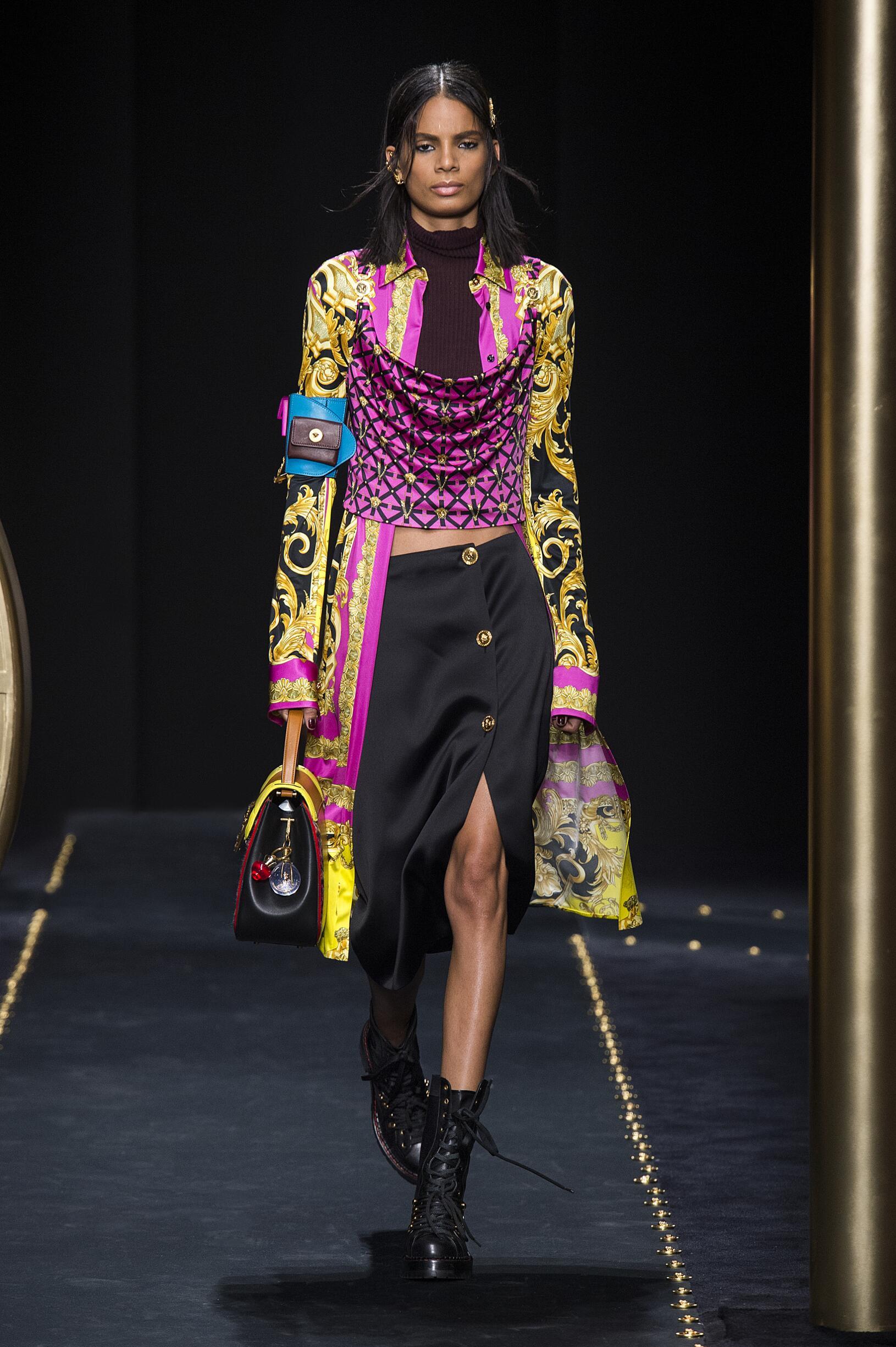 2019 Versace Catwalk