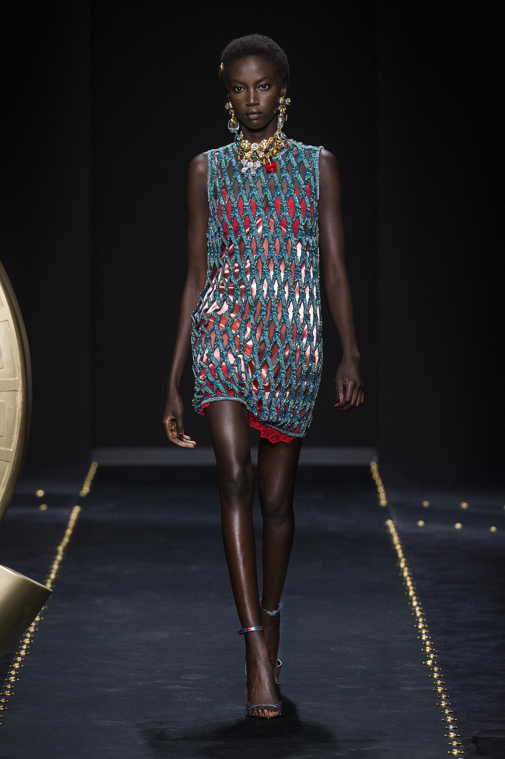 2019 Versace Fall Catwalk