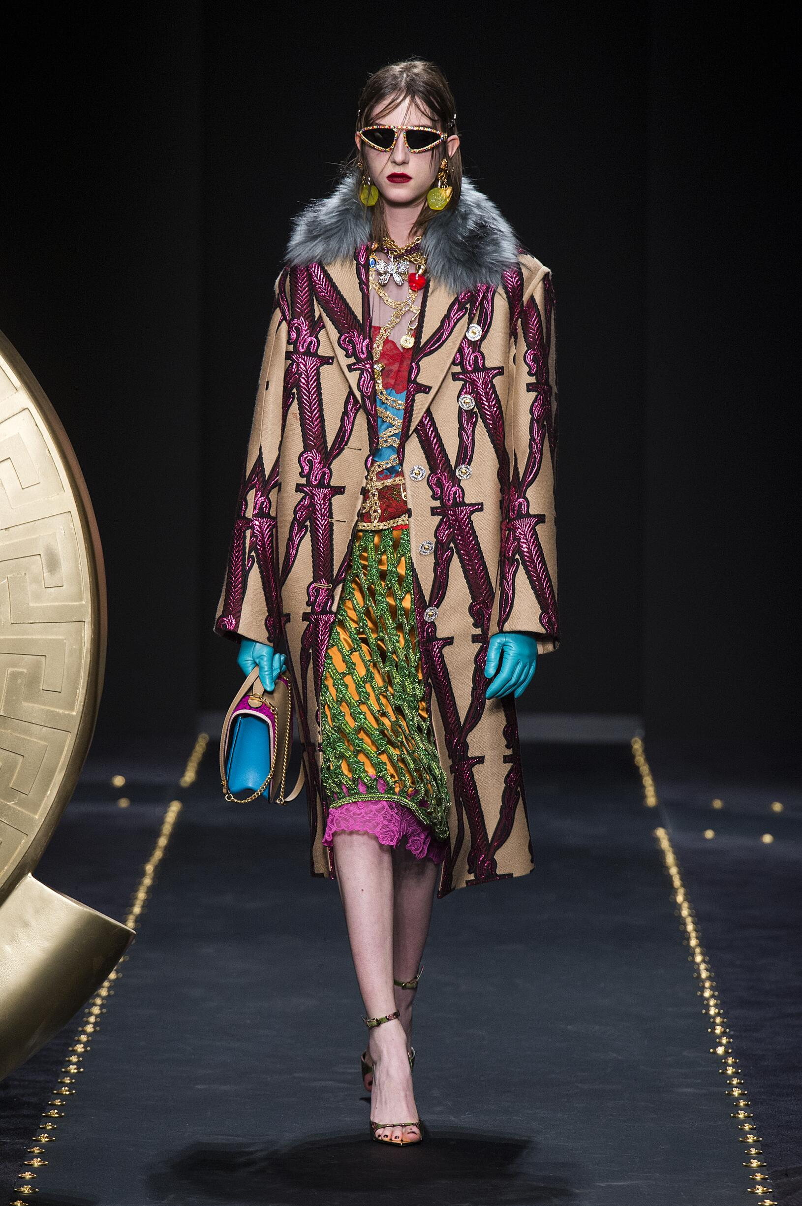 2019 Versace Fall Winter Woman