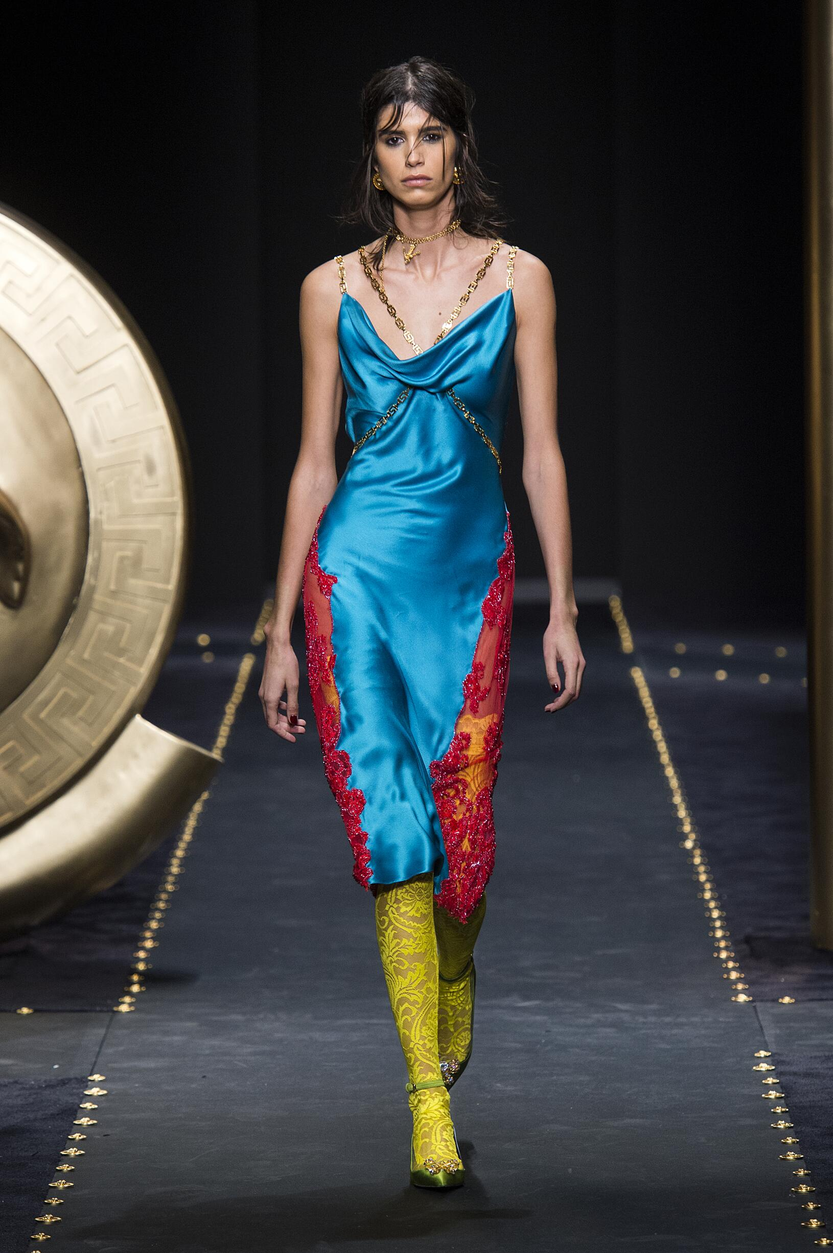 2019 Versace Winter Runway