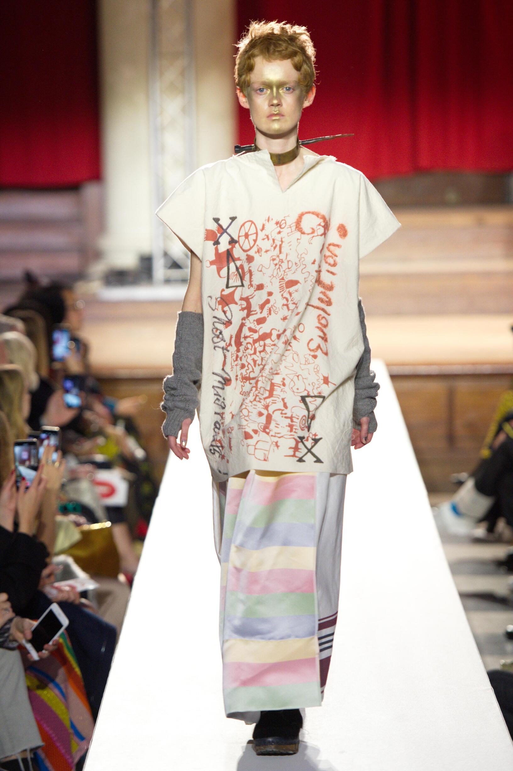 2019 Vivienne Westwood Fall Winter Model