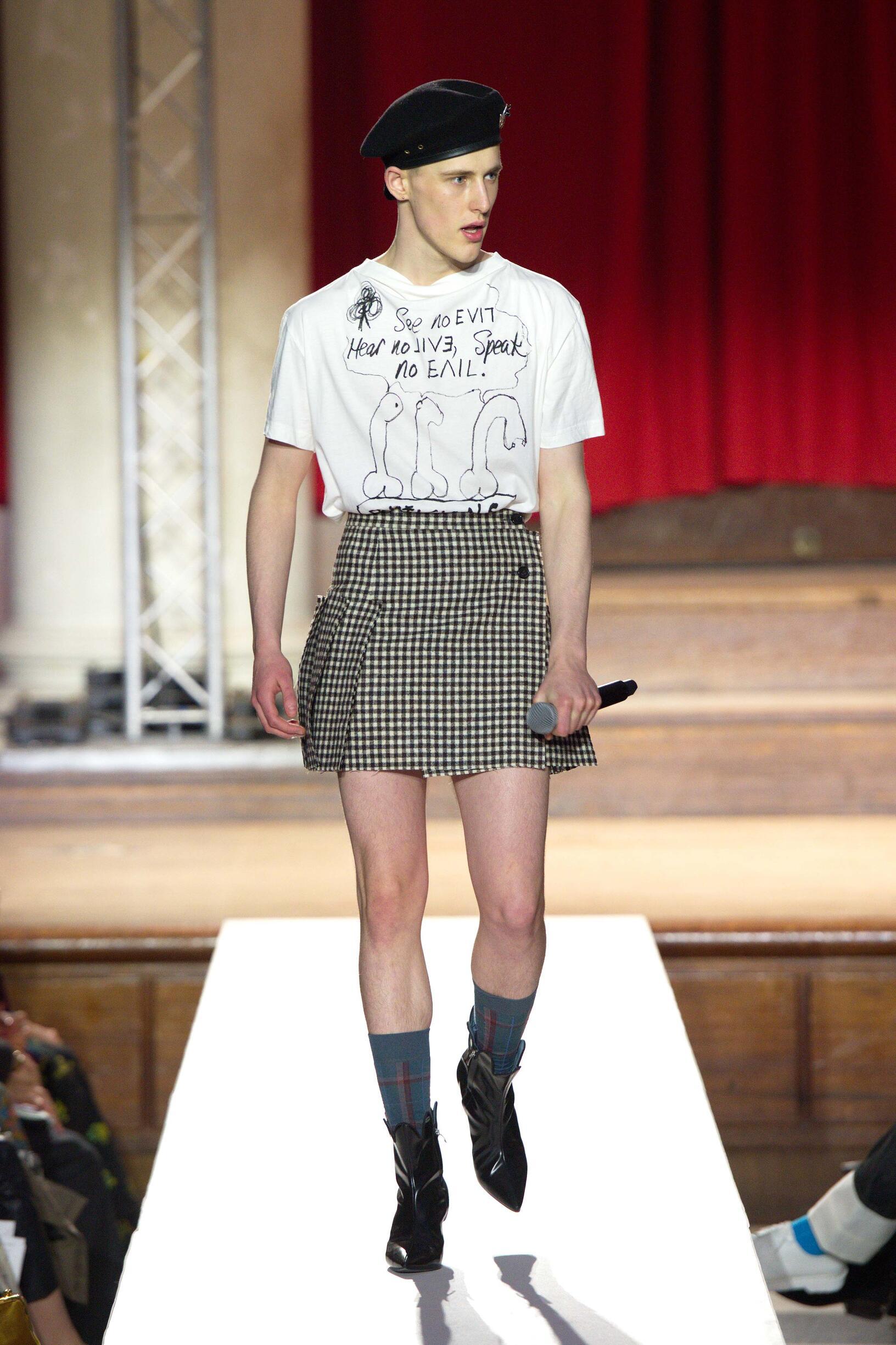 2019 Vivienne Westwood Trends London Fashion Week