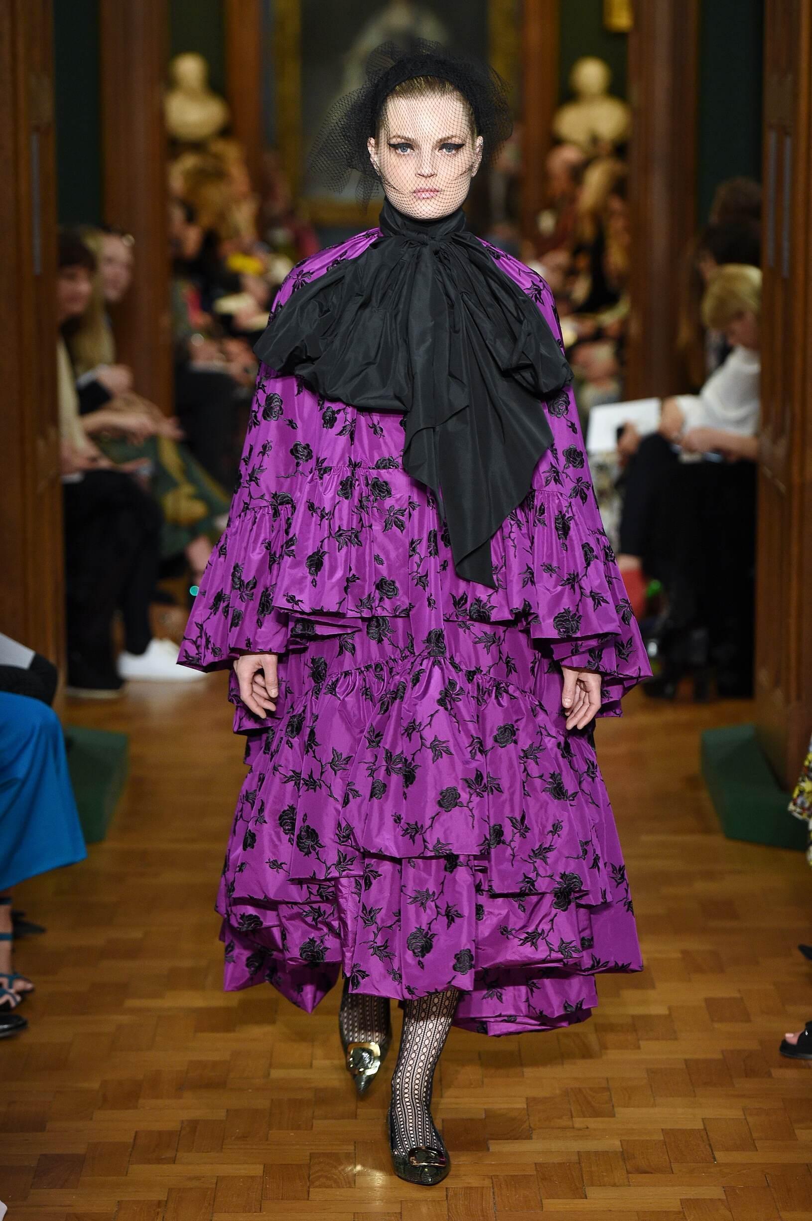 2019 Woman Erdem Trends London Fashion Week