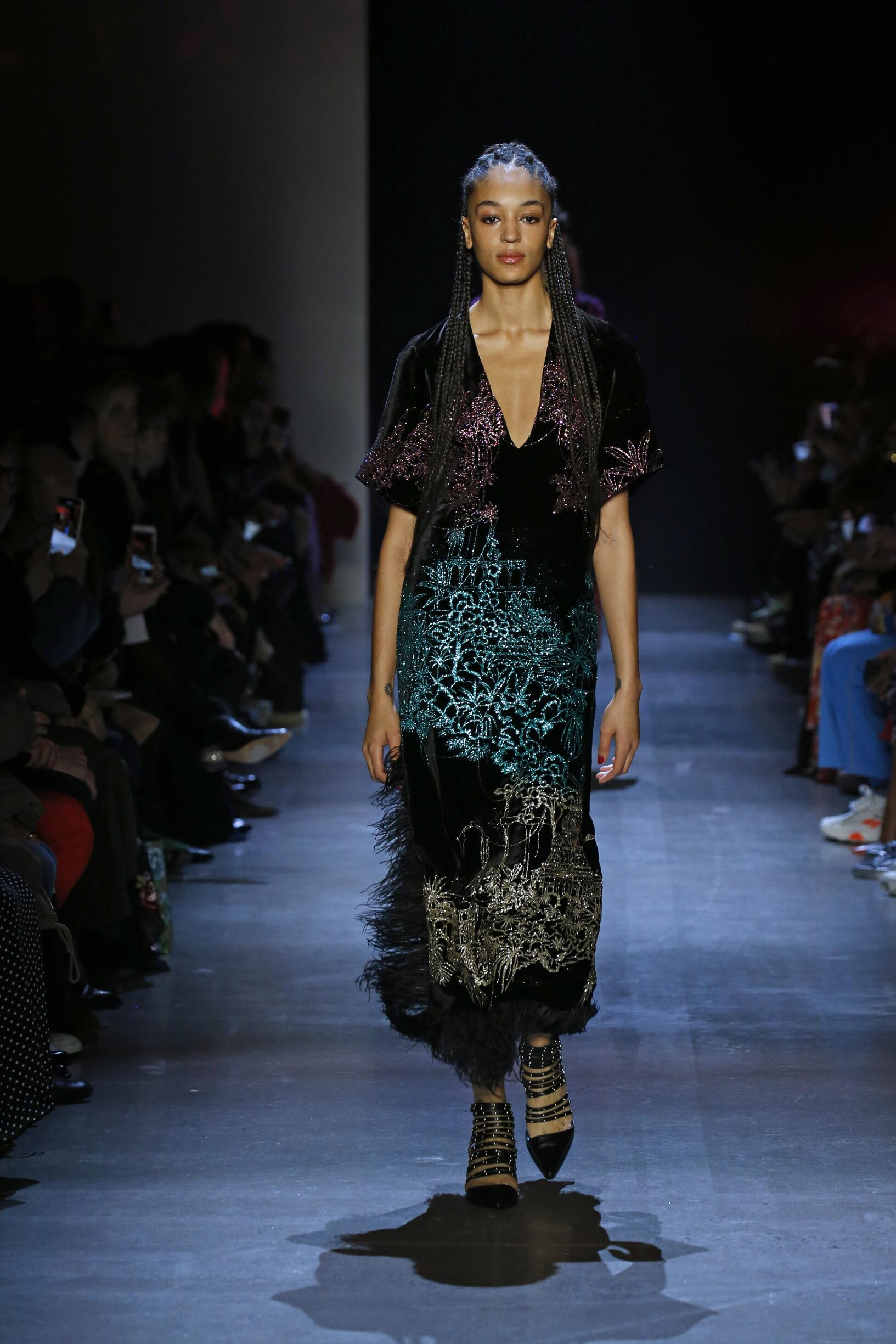 2019 Woman Prabal Gurung Trends New York Fashion Week