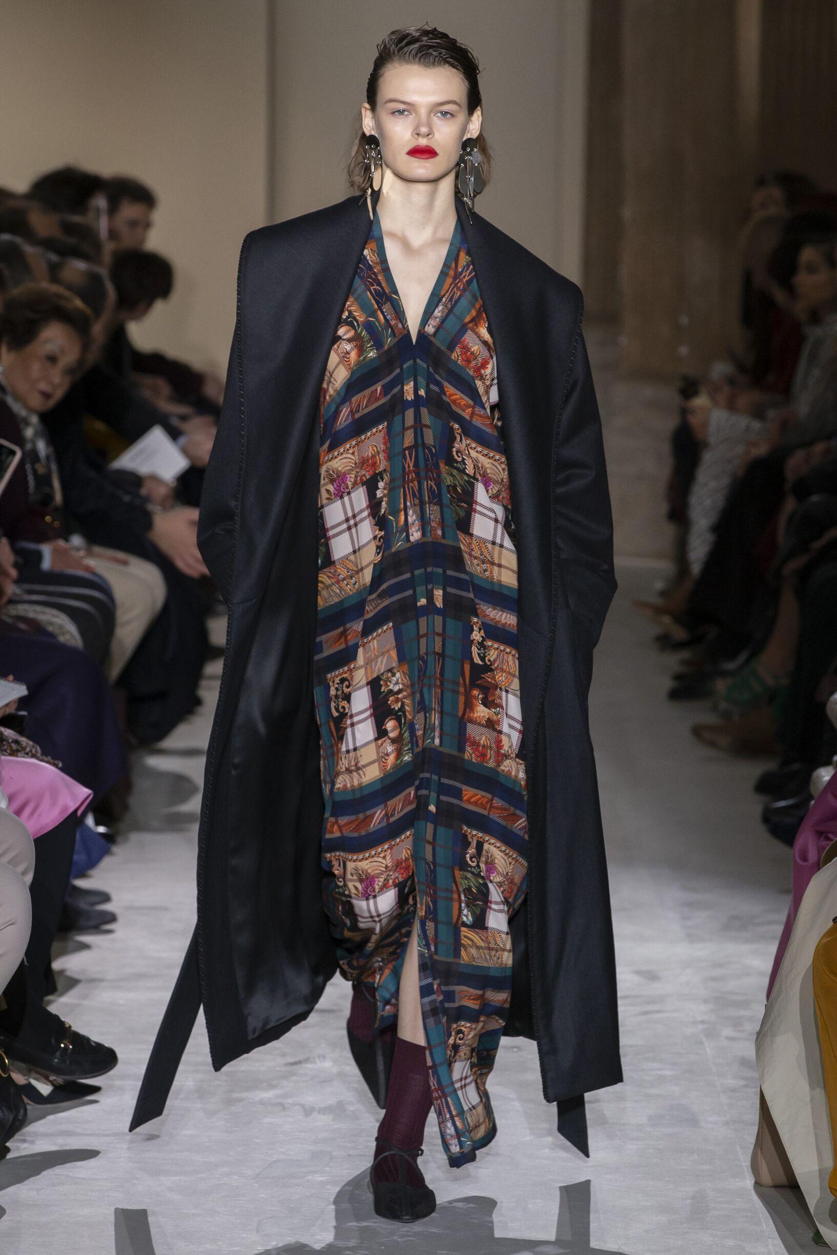 2019 Woman Salvatore Ferragamo Trends Milan Fashion Week