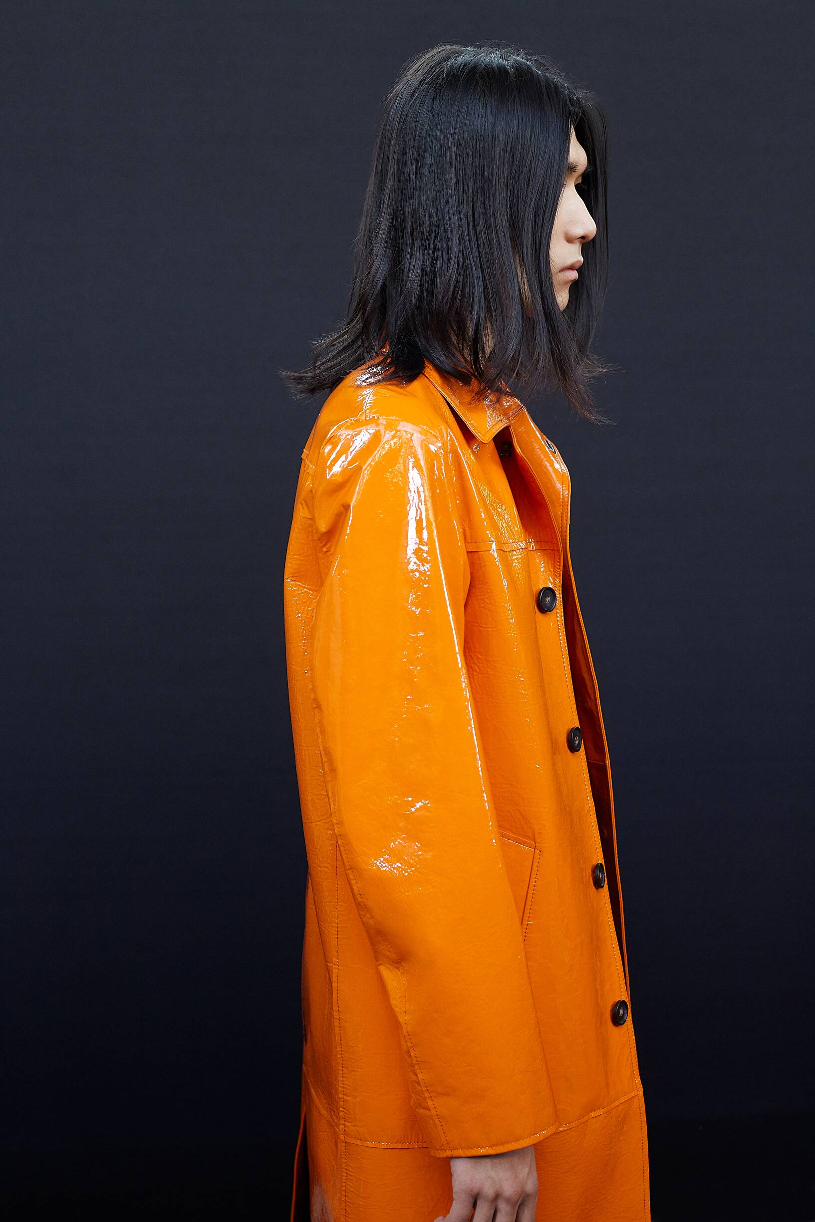 Backstage Acne Studios Fall Menswear 2019