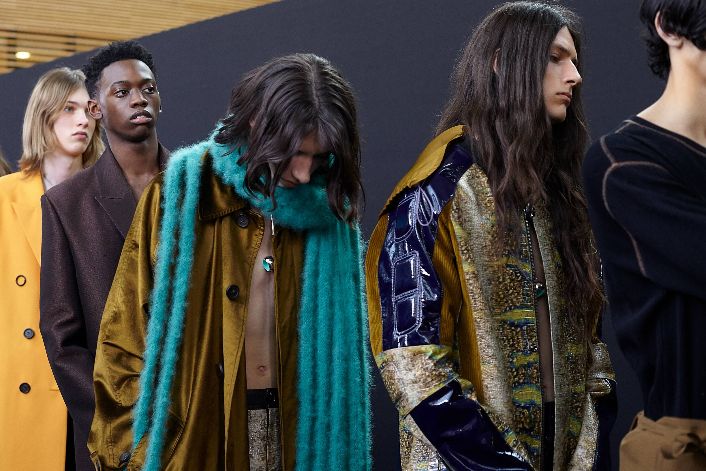 Backstage Acne Studios Fashion Show 2019 Paris