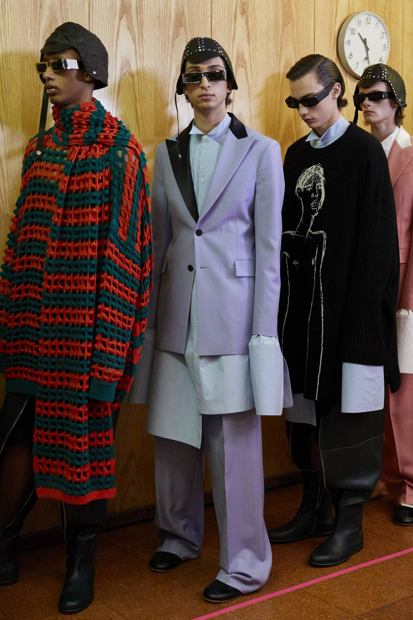 Backstage Loewe Color Trends