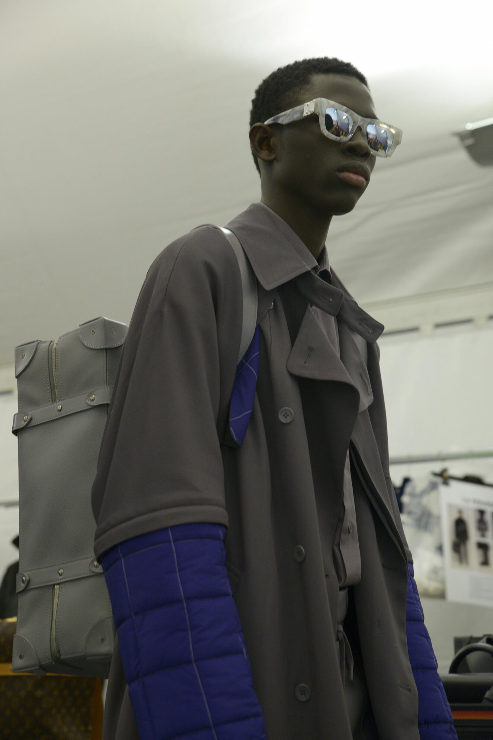 Backstage Louis Vuitton Fashion Trends