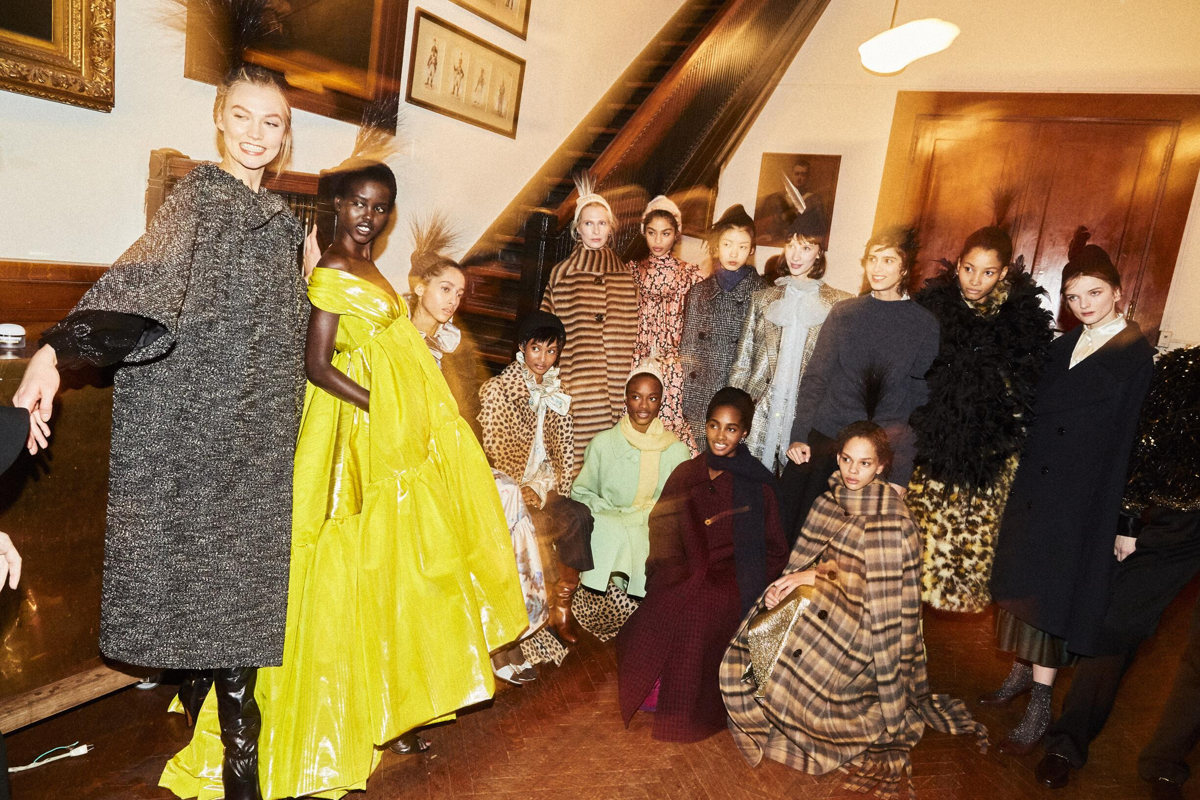 Backstage Marc Jacobs Models 2019