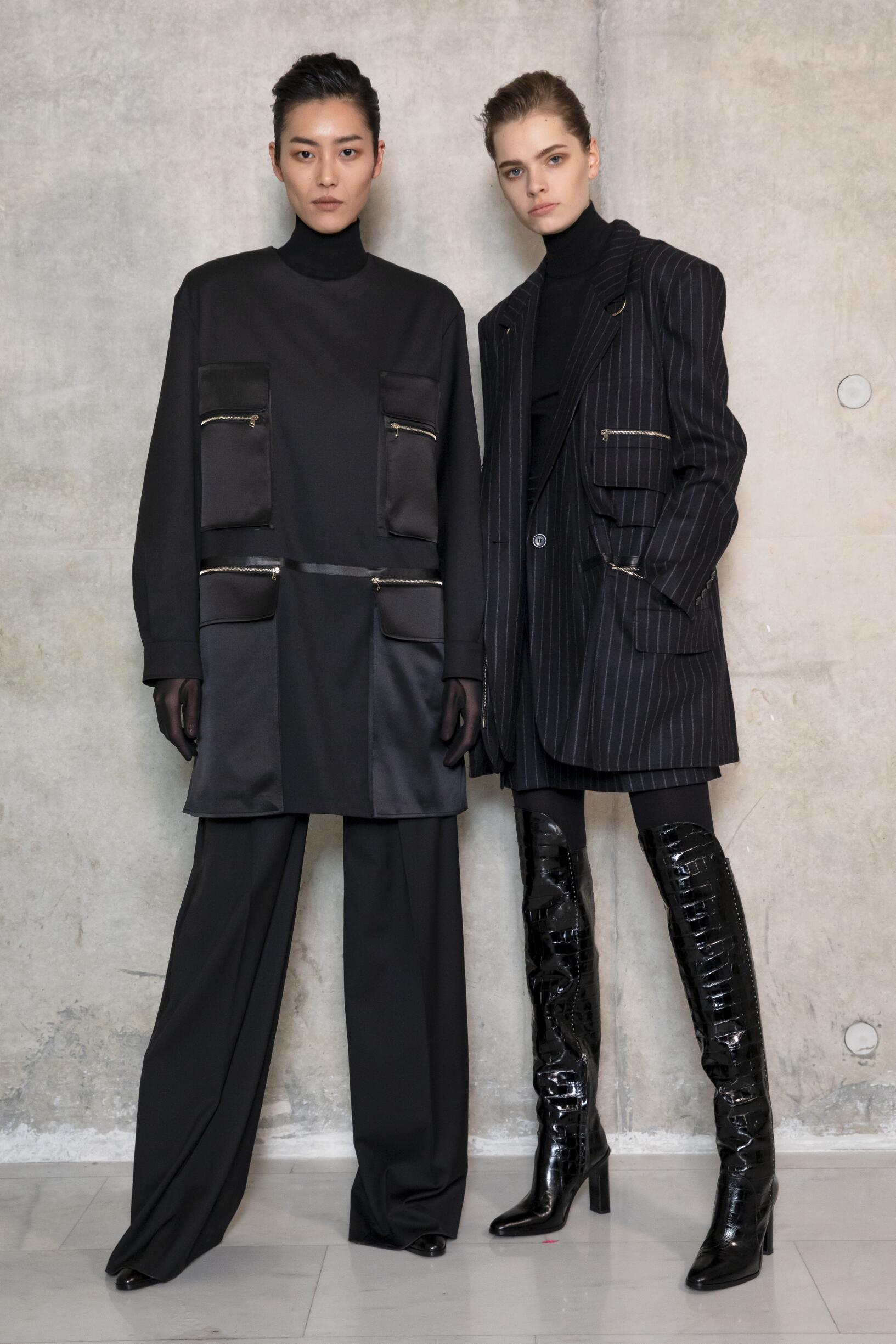 Backstage Max Mara Fall Womenswear 2019
