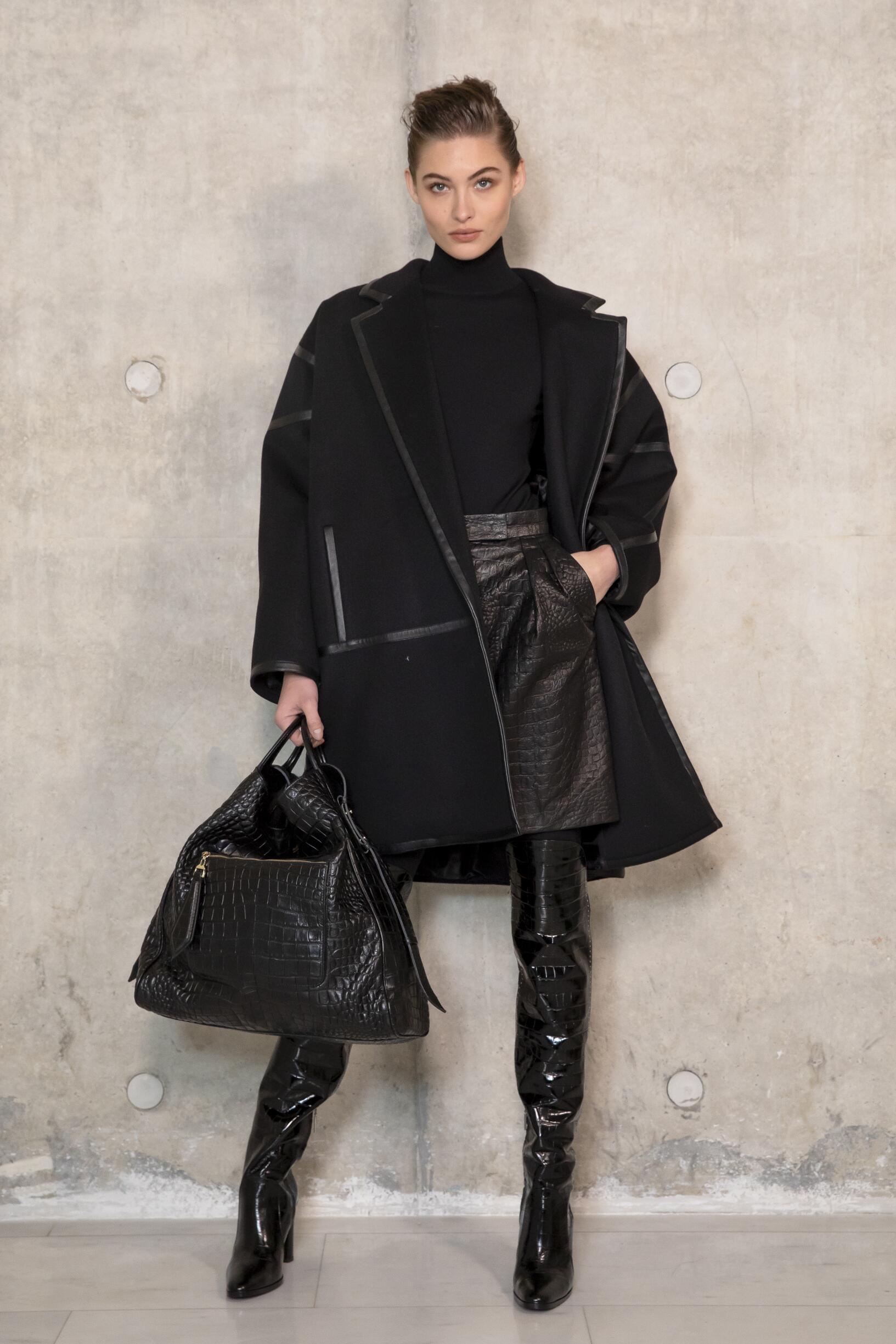 Backstage Max Mara Model 2019 FW