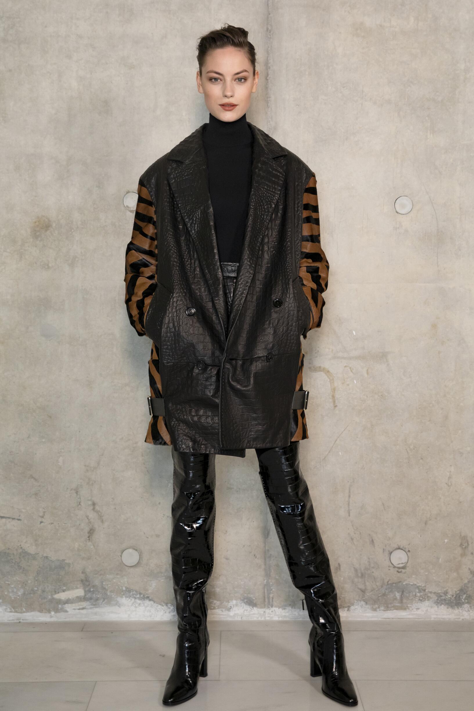 Backstage Max Mara Model