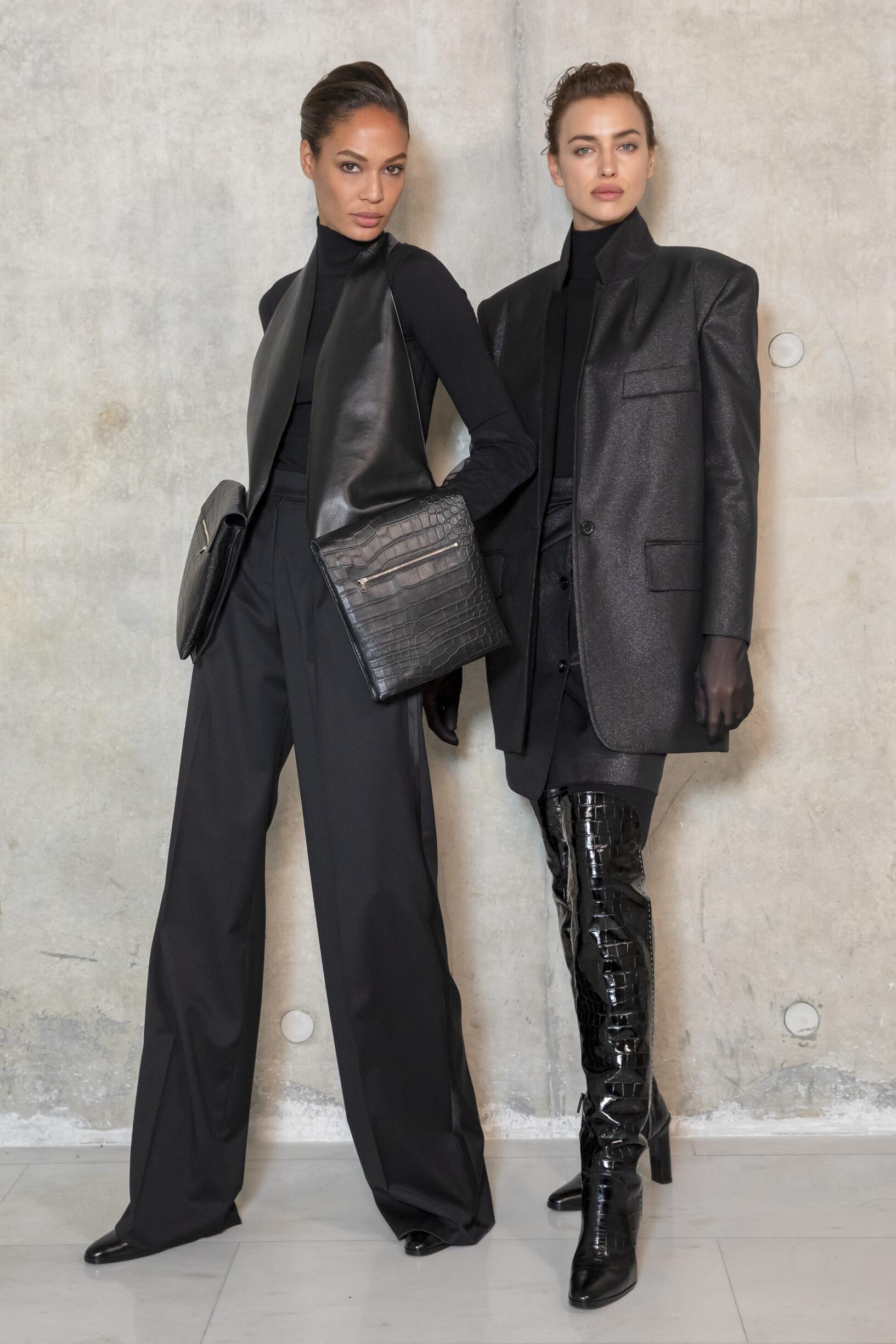 Backstage Max Mara Models Womenswear 2019-2020