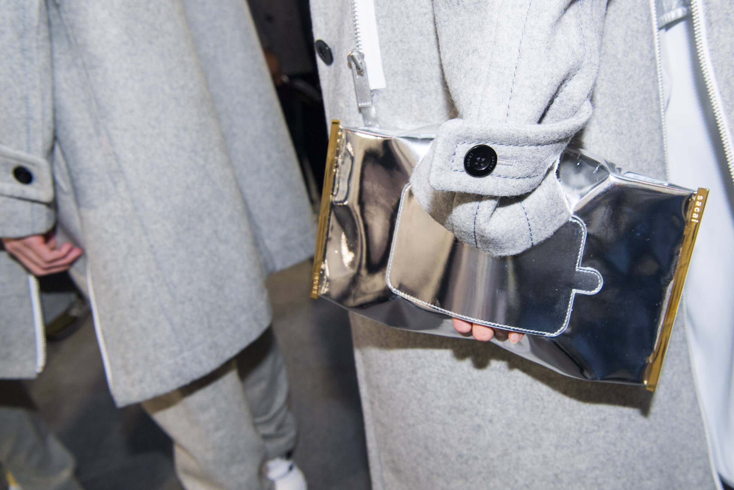 Backstage Sacai Detail Fall 2019 Collection Paris Fashion Week