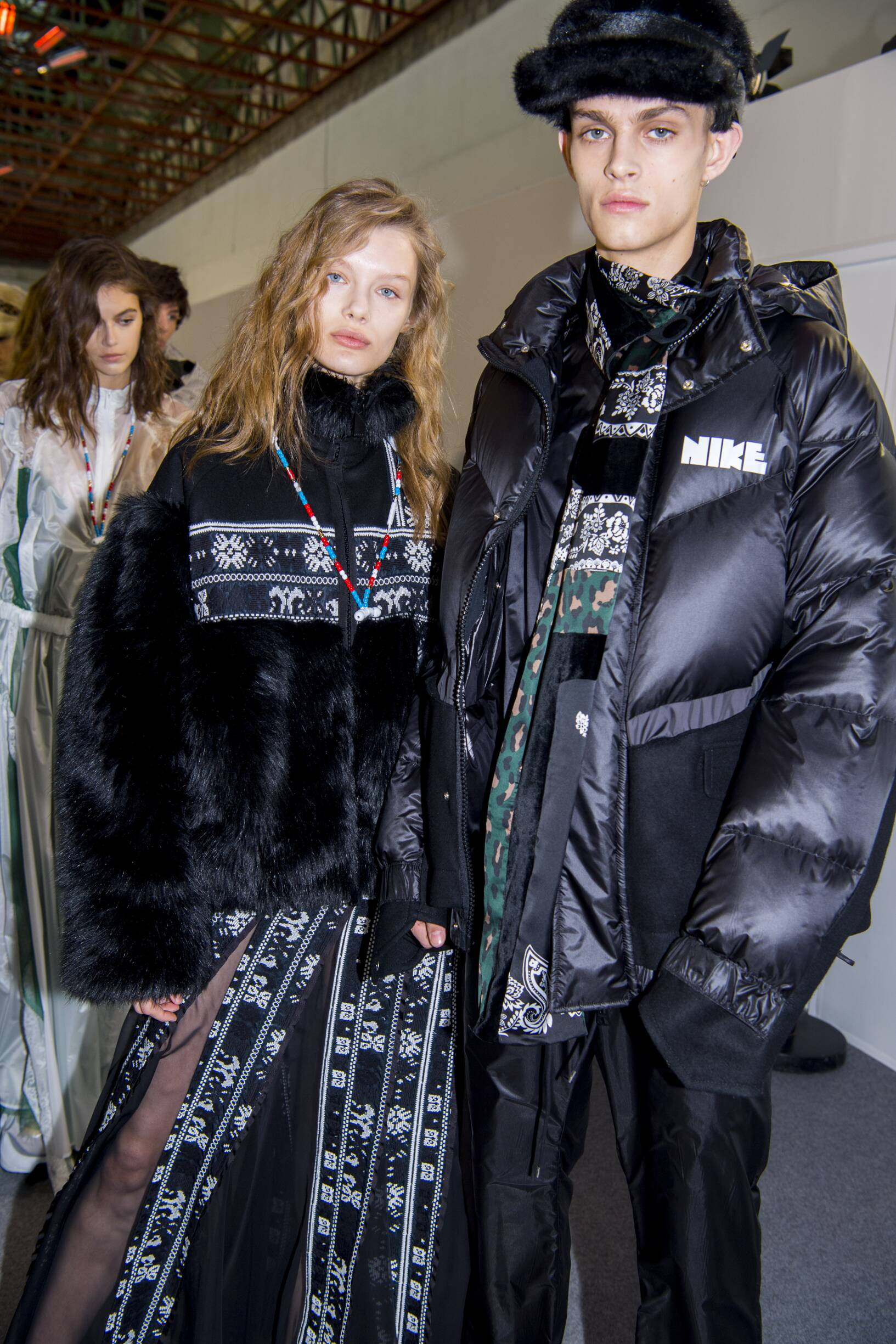 Backstage Sacai Fall Winter 2019
