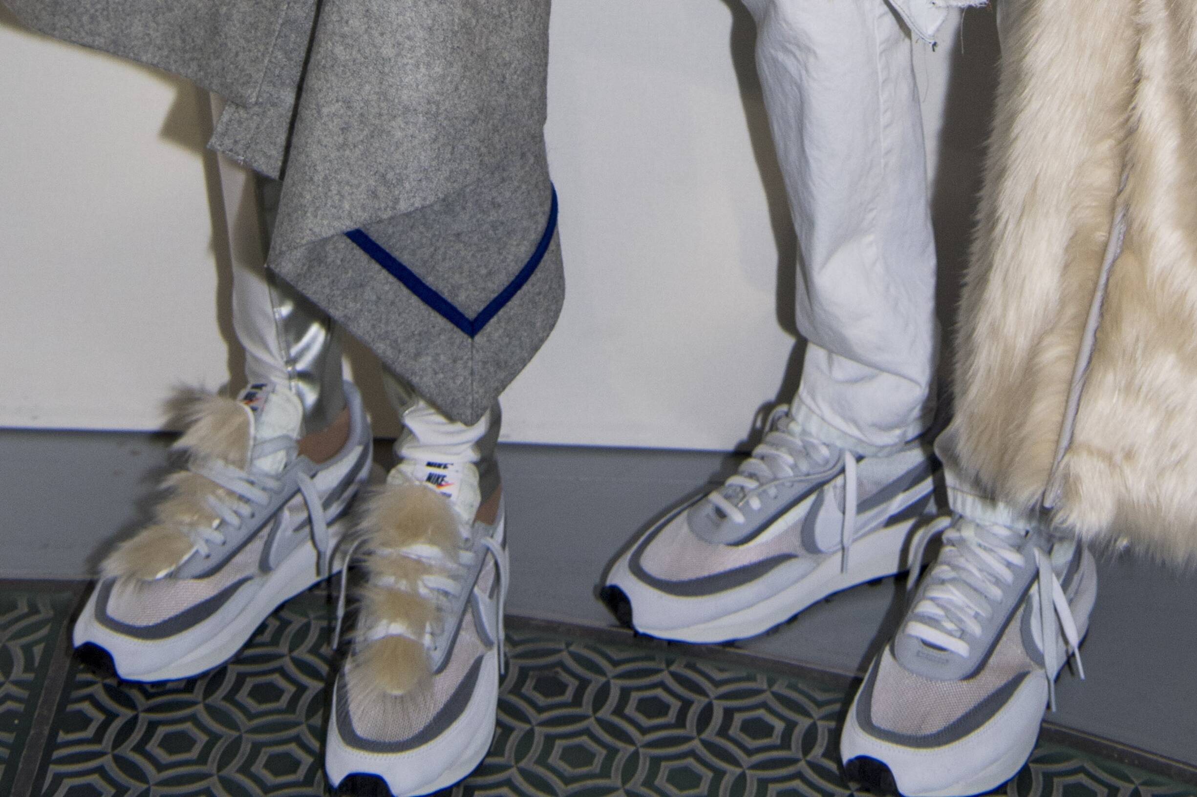 Backstage Sacai Shoes Trends