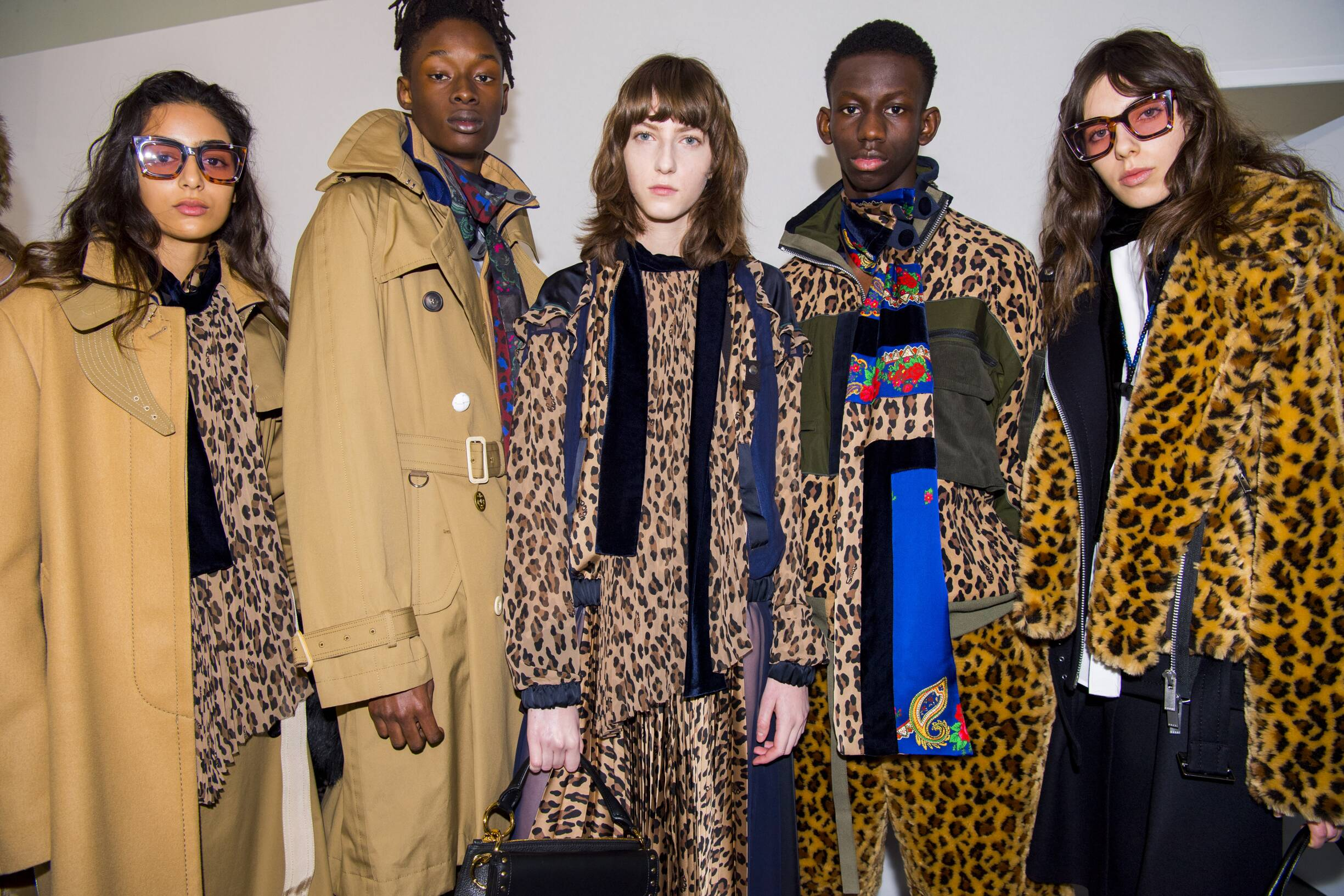 Backstage Sacai Trends