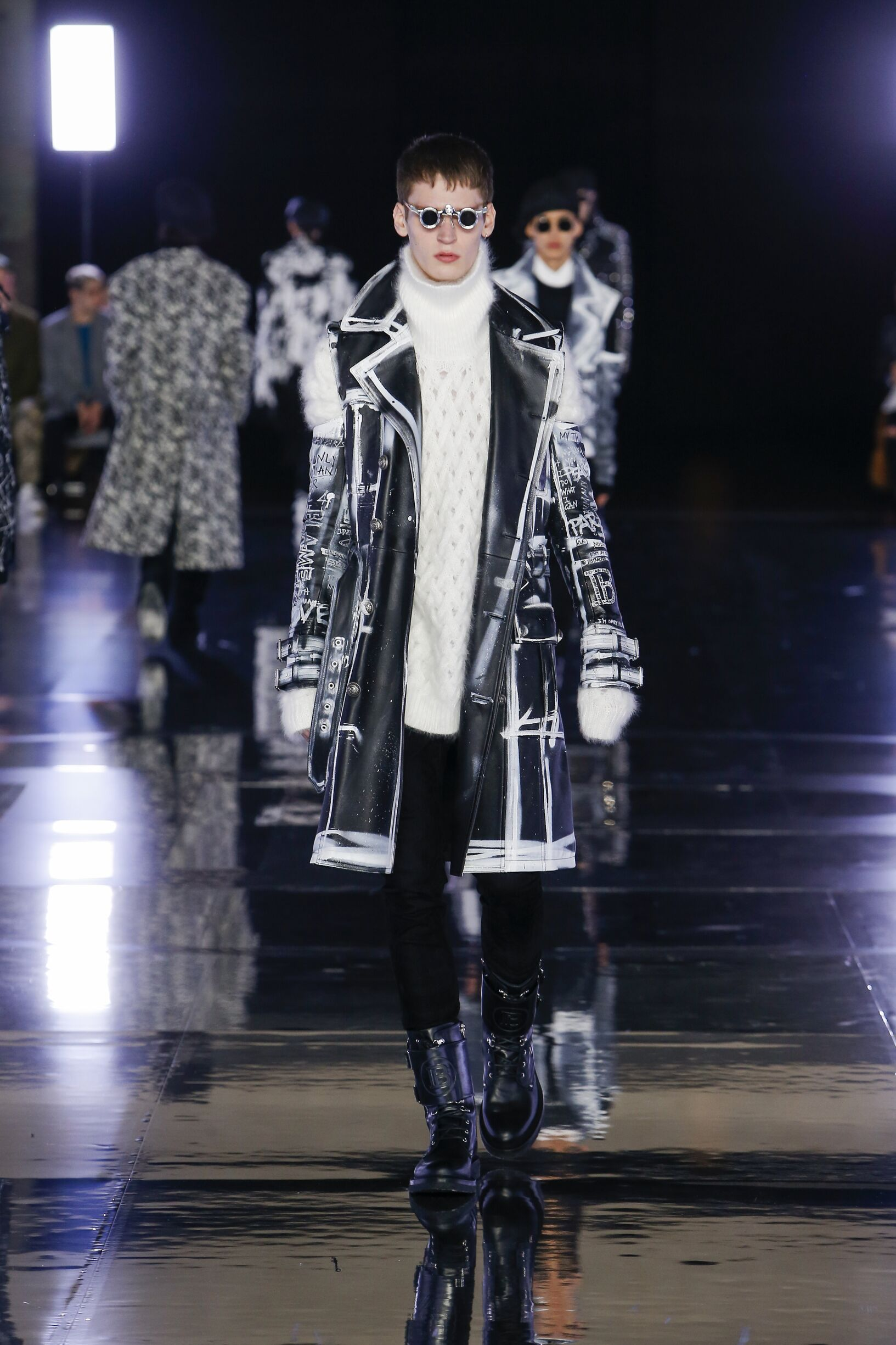 Balmain 2019 Paris Men Trends