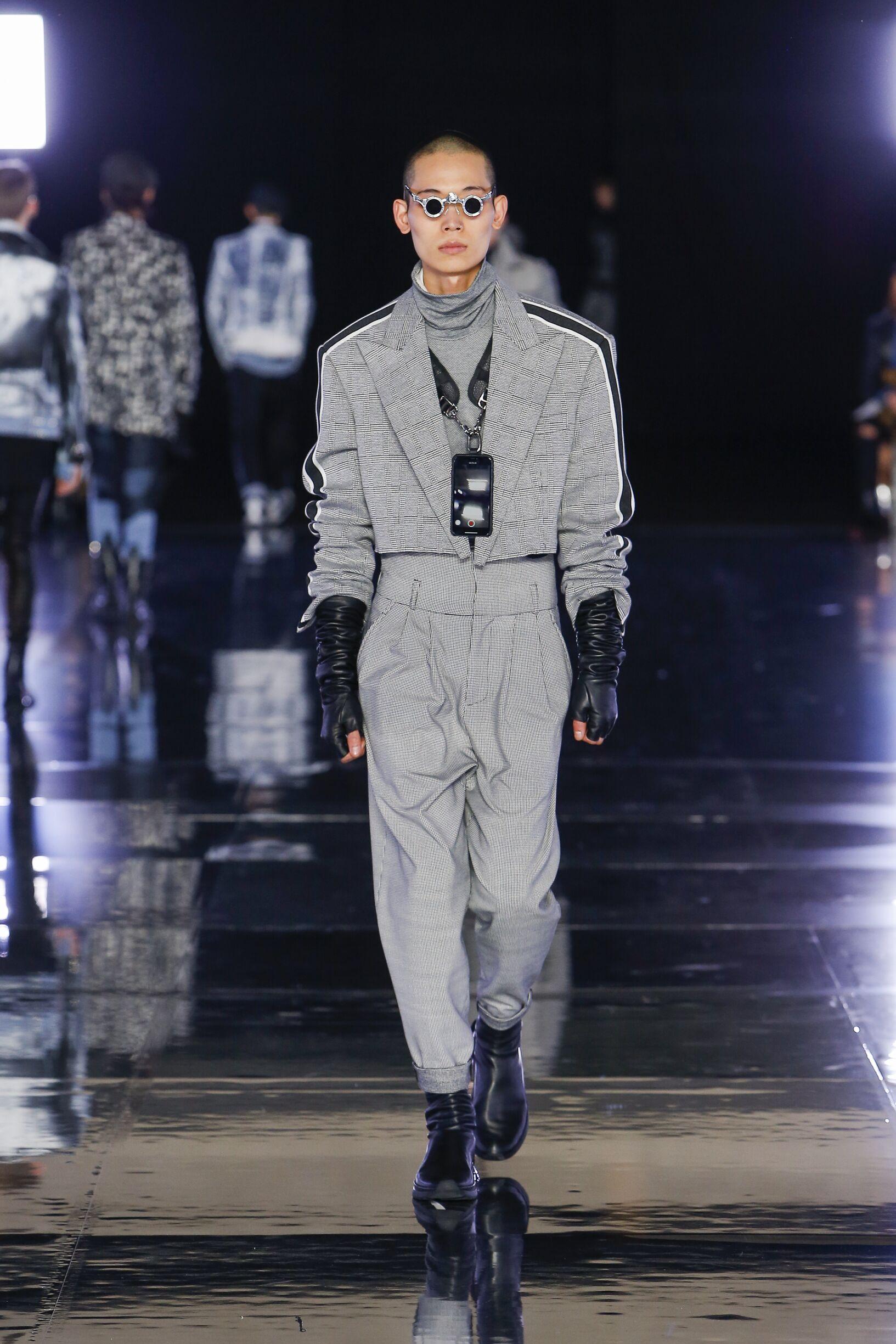 Balmain 2019 Paris Trends Menswear