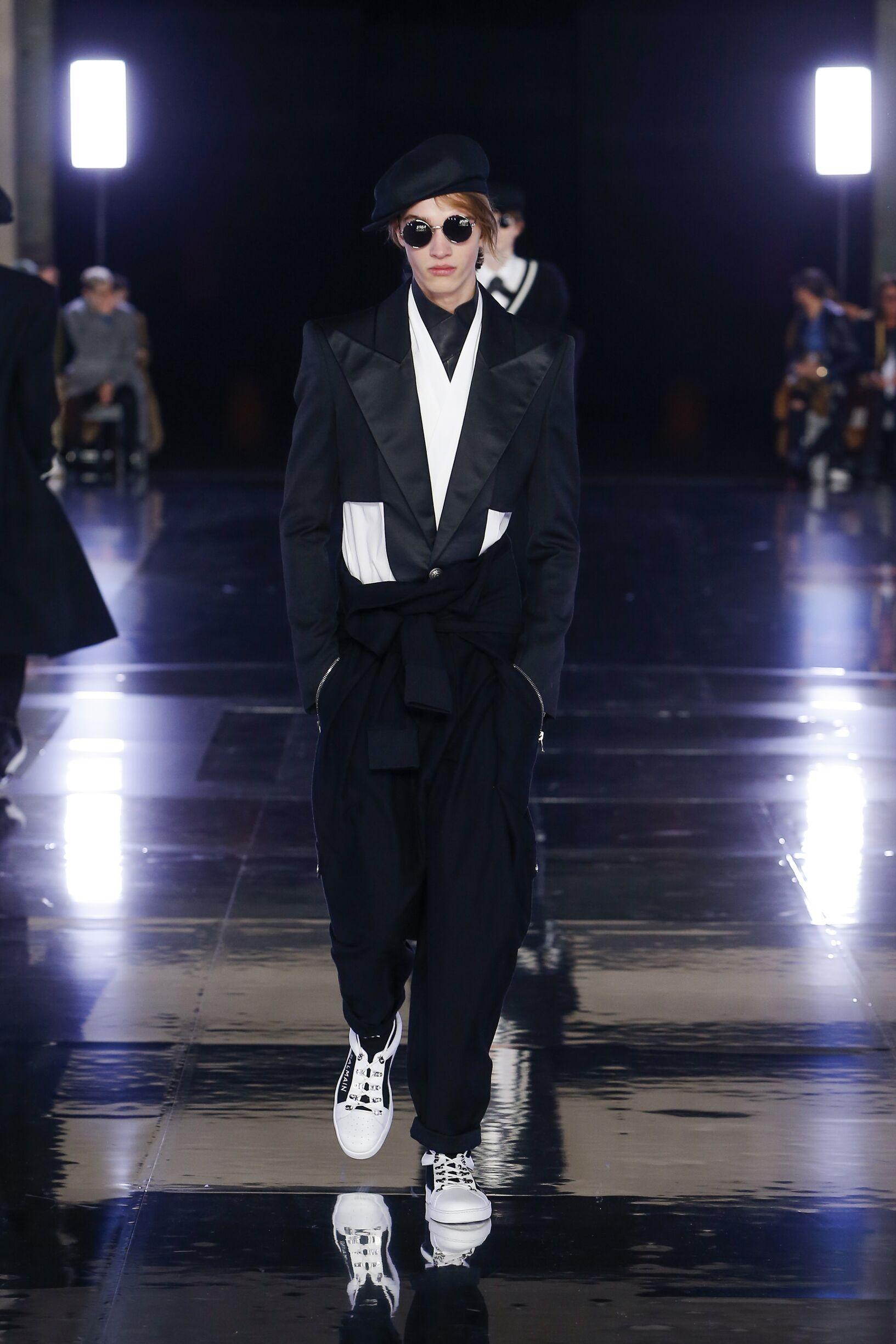 Balmain Fall Winter 2019 Collection Paris Fashion Week
