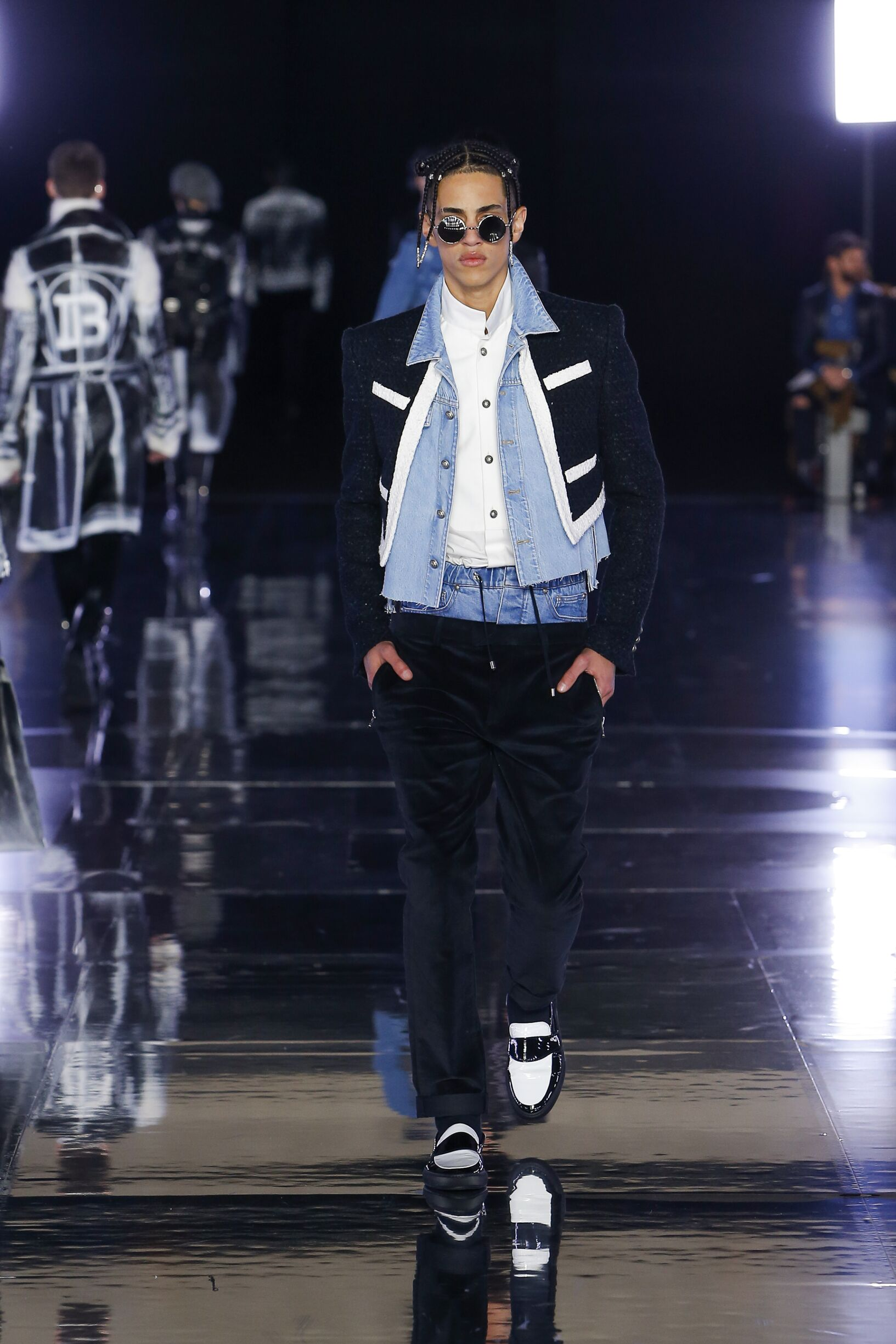 Balmain Menswear Collection Trends