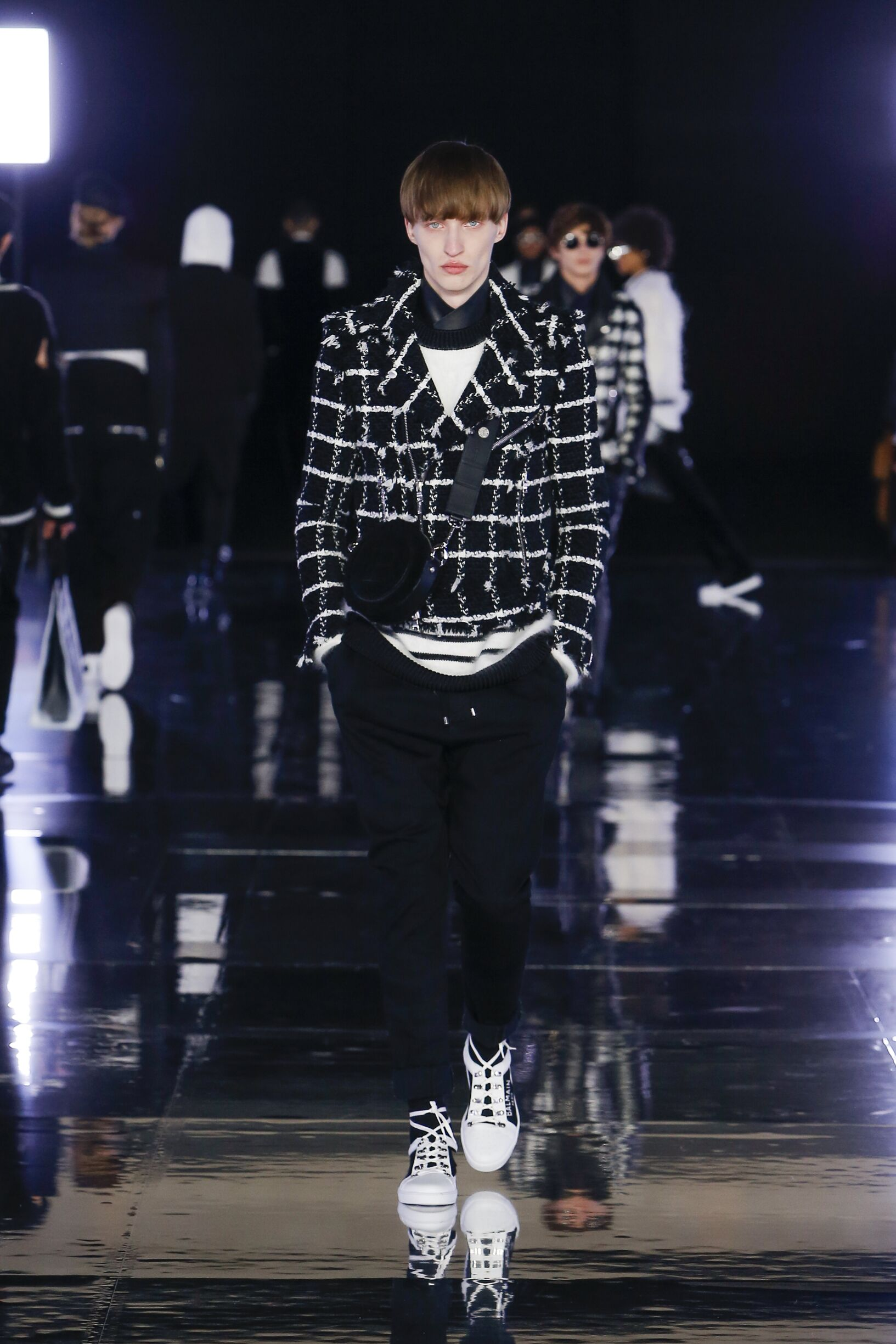 Balmain Menswear Fashion Show