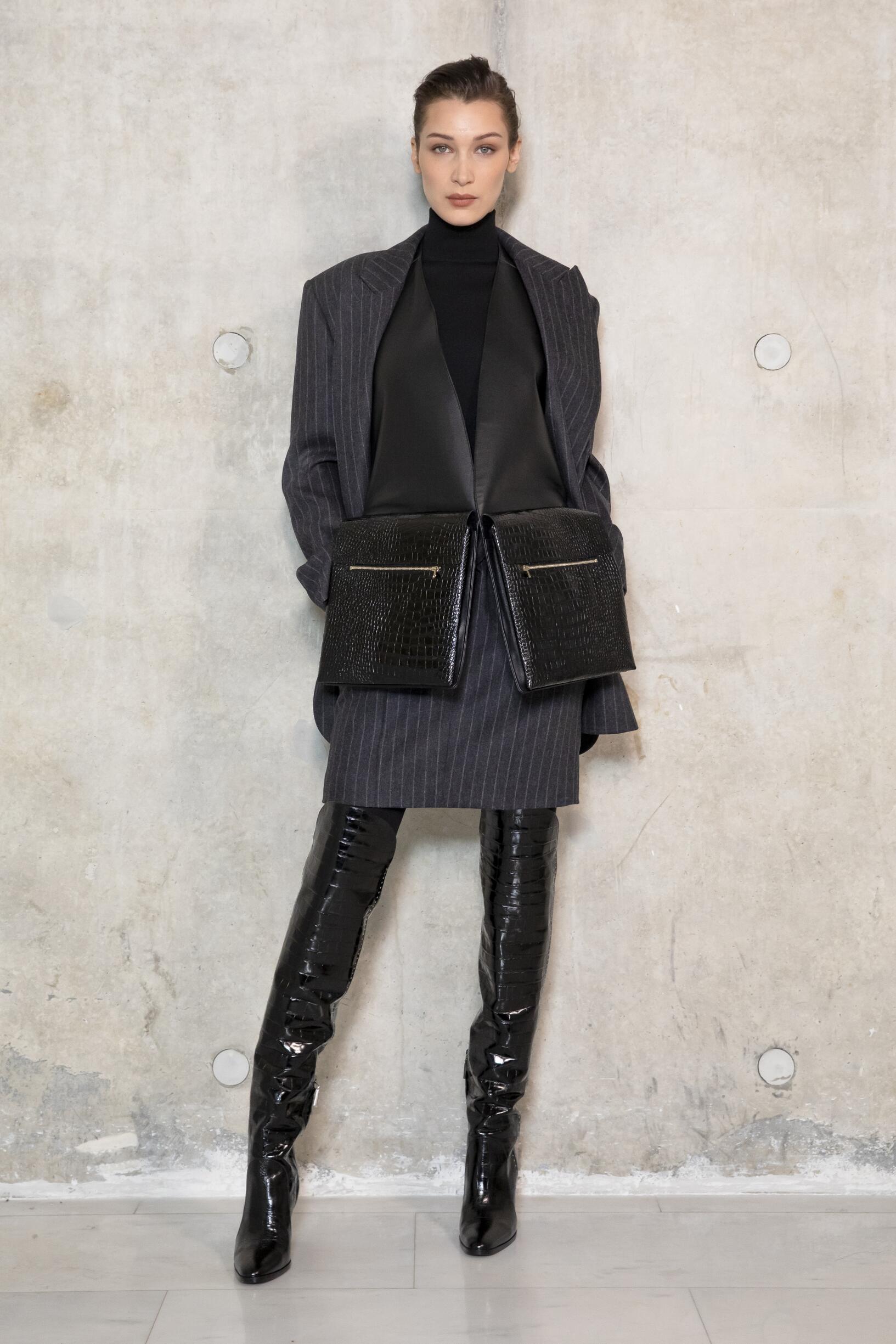Bella Hadid 2019 Backstage Max Mara
