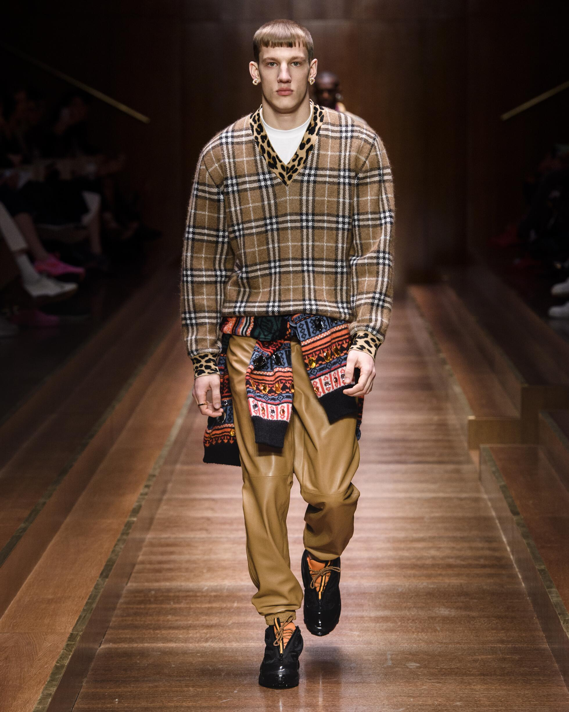 Burberry Men's Collection 2019 20