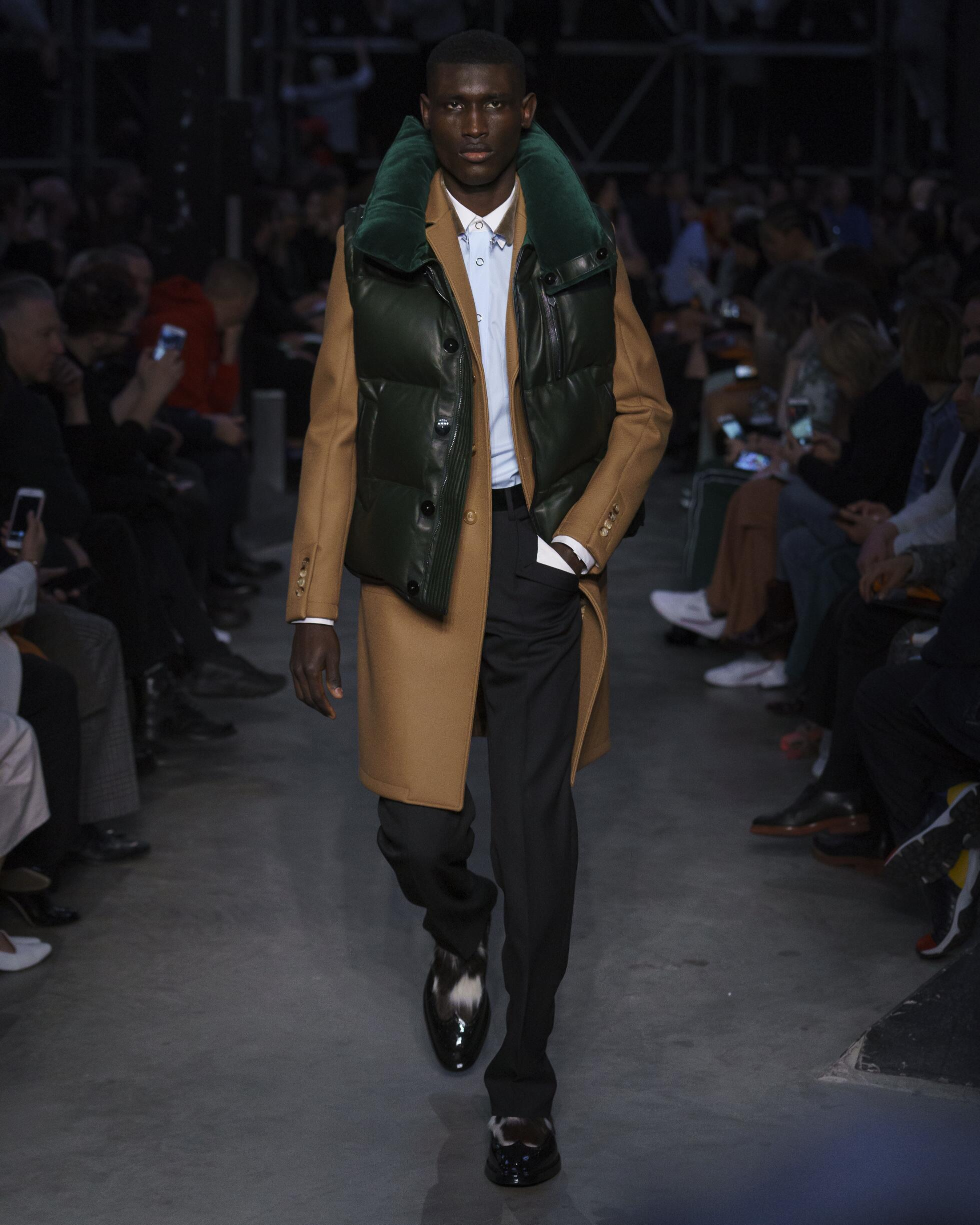Burberry Menswear Collection Trends