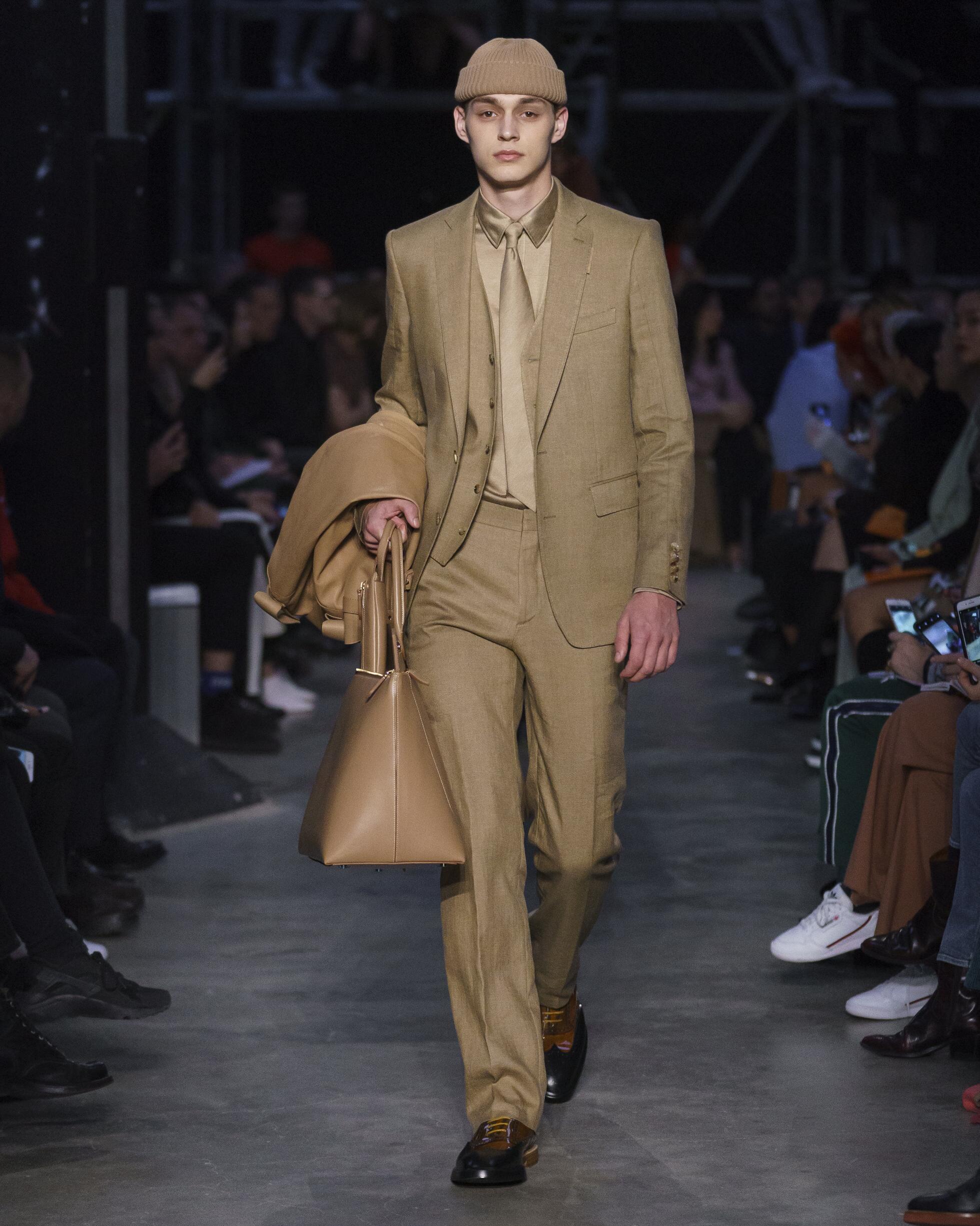 Burberry Menswear Suit Trends