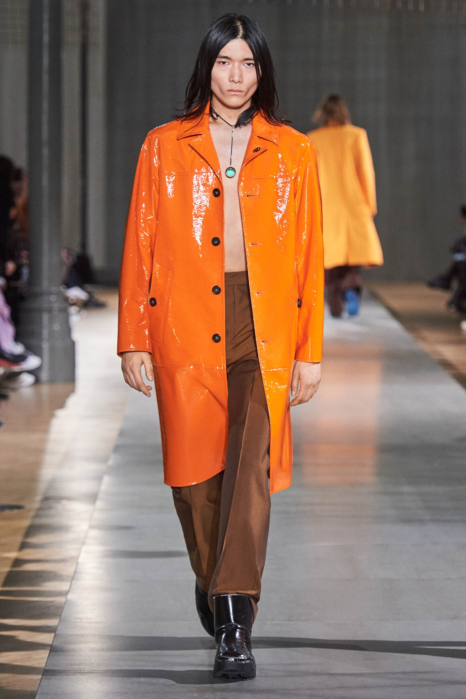 Catwalk Acne Studios Man Fashion Show Winter 2019