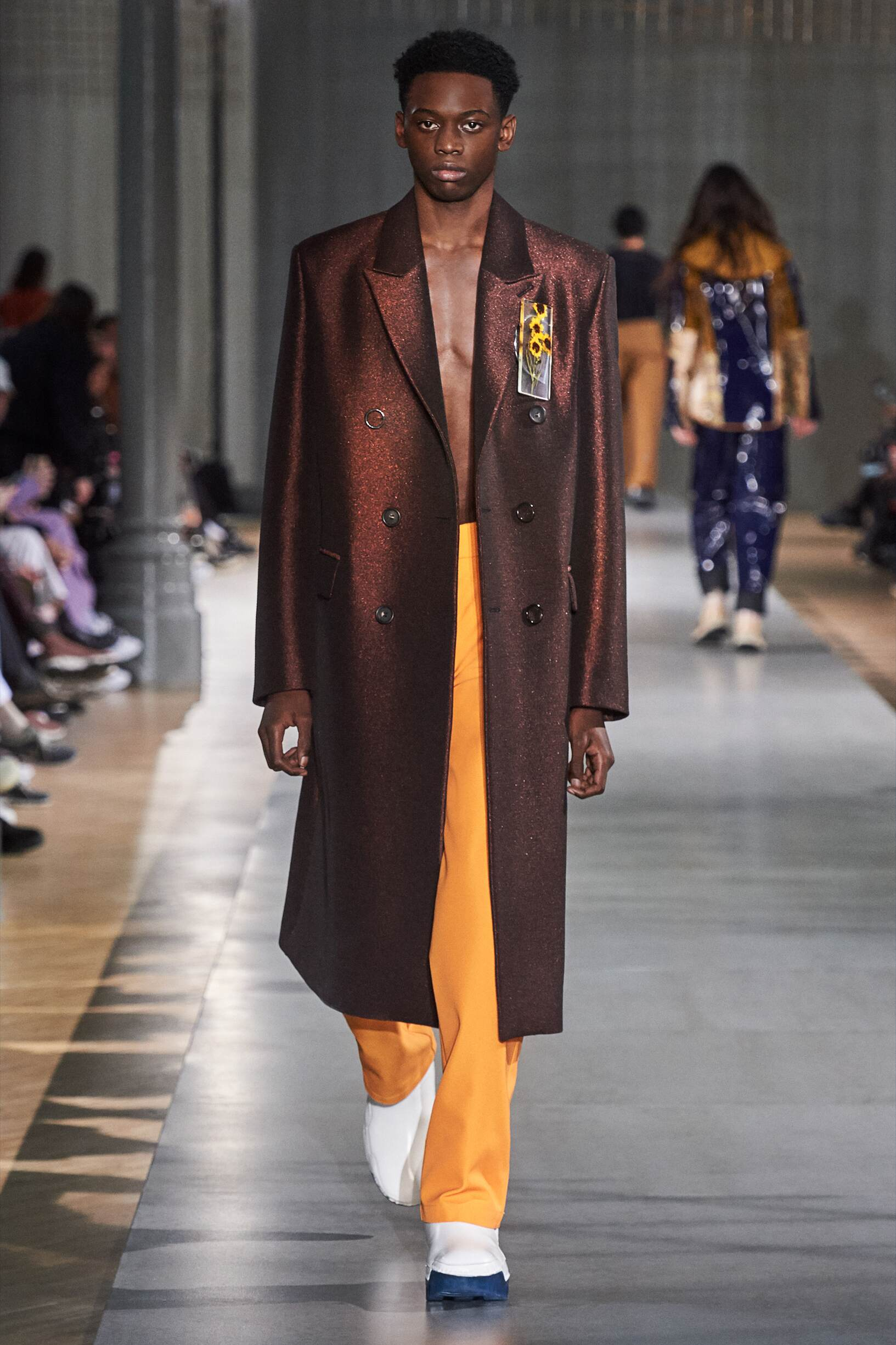 Catwalk Acne Studios Men Fashion Show Winter 2019
