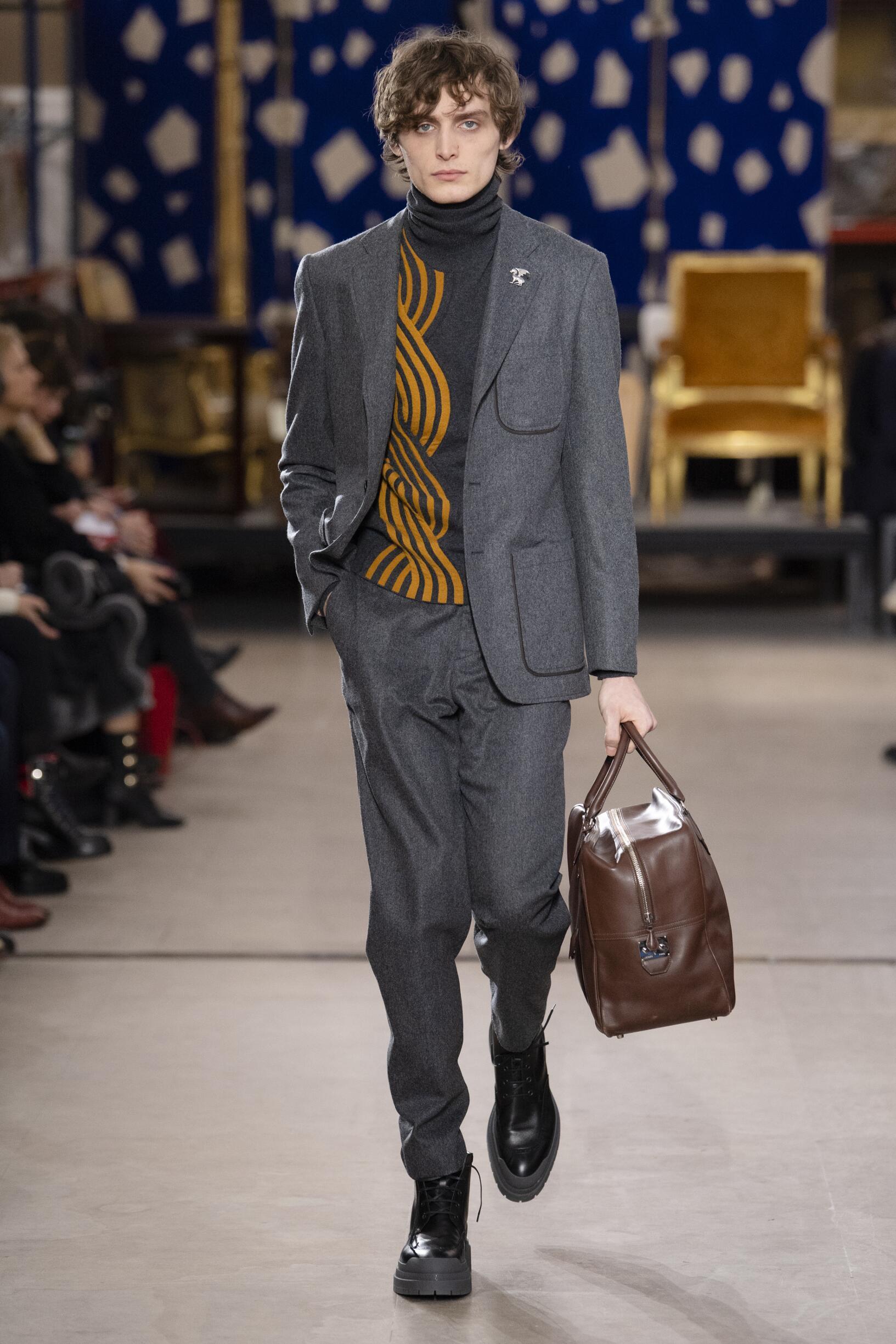 Catwalk Hermès Man Fashion Show Winter 2019