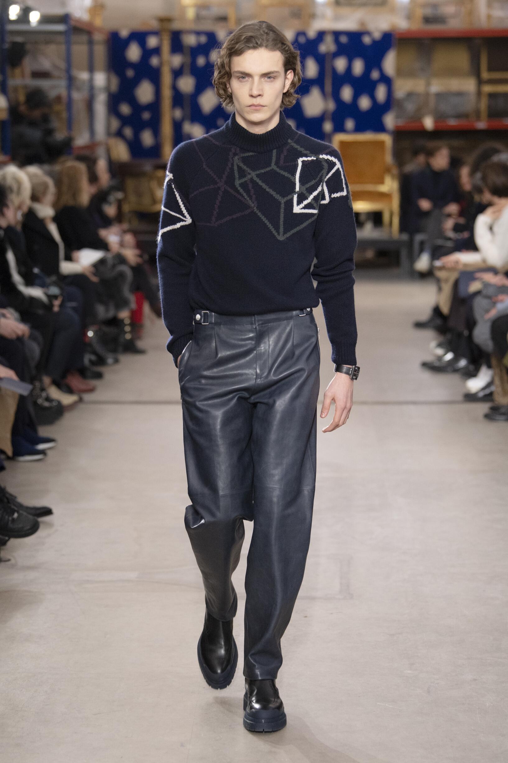 Catwalk Hermès Winter 2019