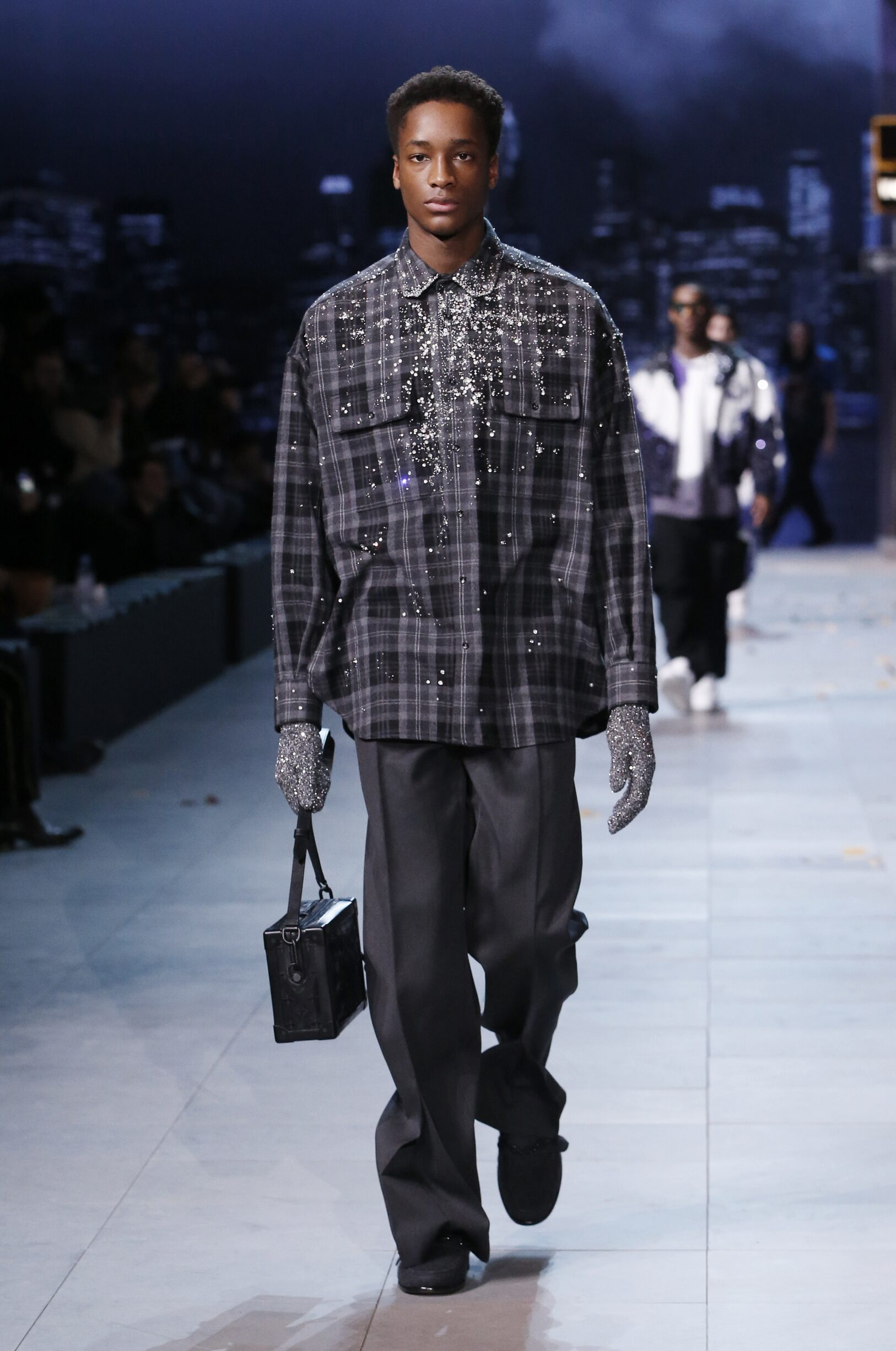Catwalk Louis Vuitton Men Fashion Show Winter 2019