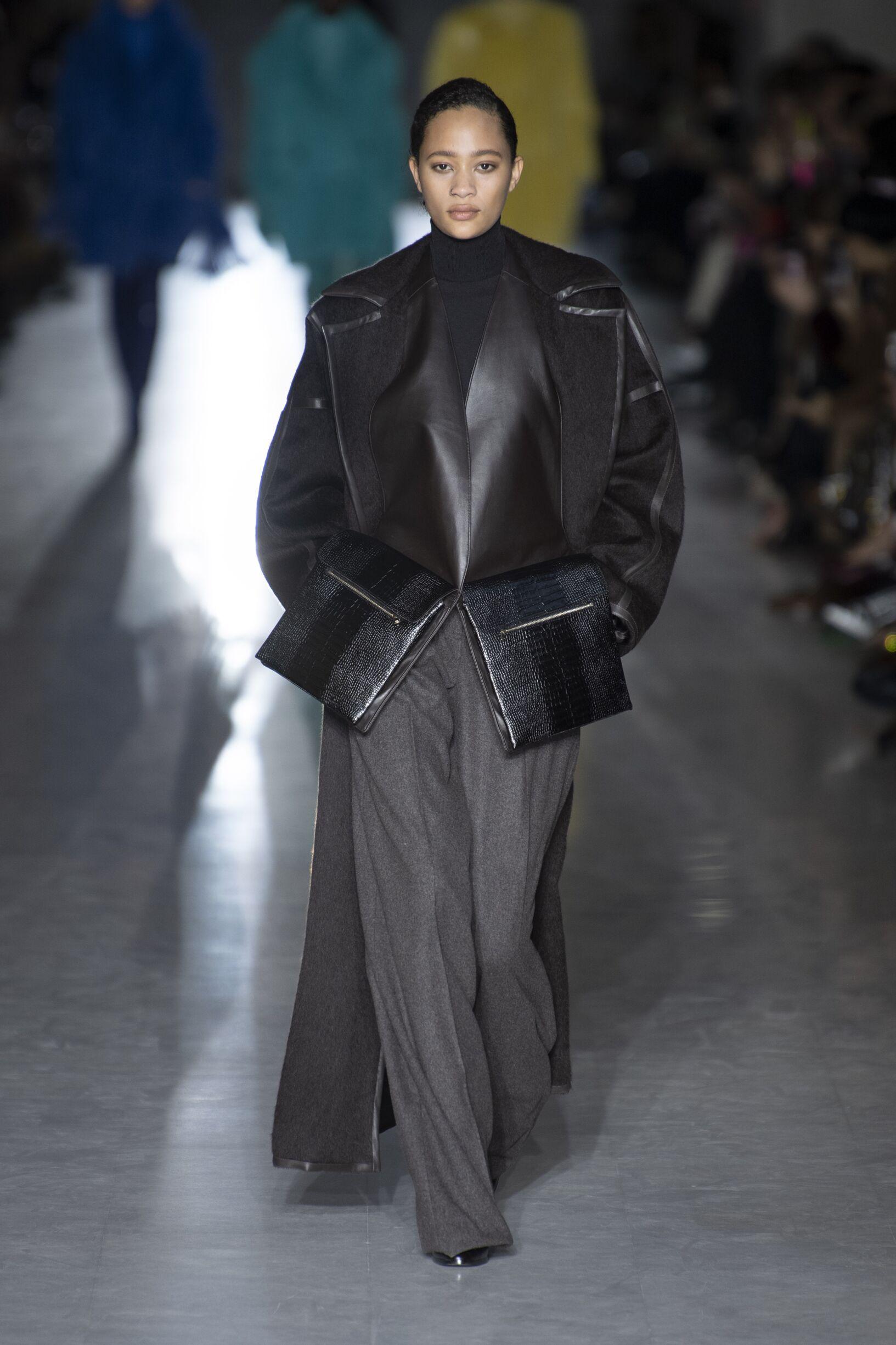 Catwalk Max Mara Woman Fashion Show Winter 2019